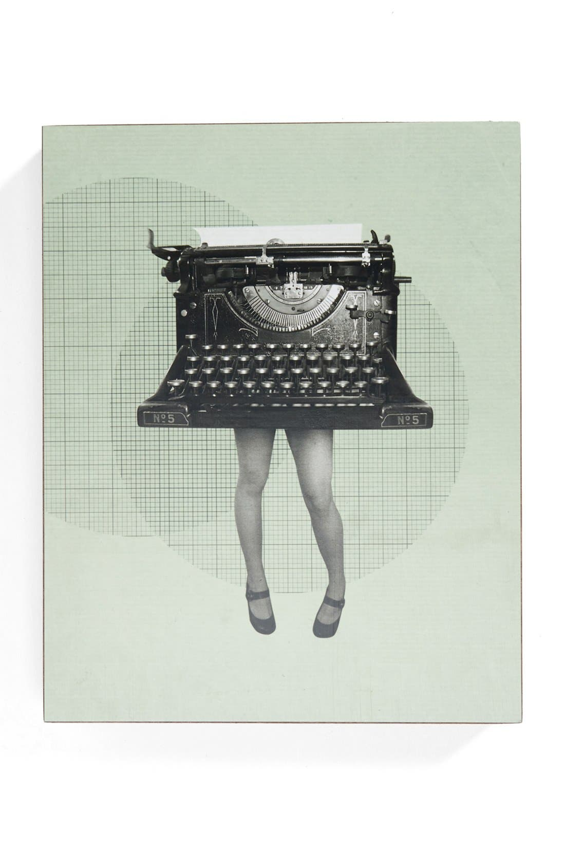 Alternate Image 1 Selected - Lucius Designs 'The Sexy Typewriter' Wall Art
