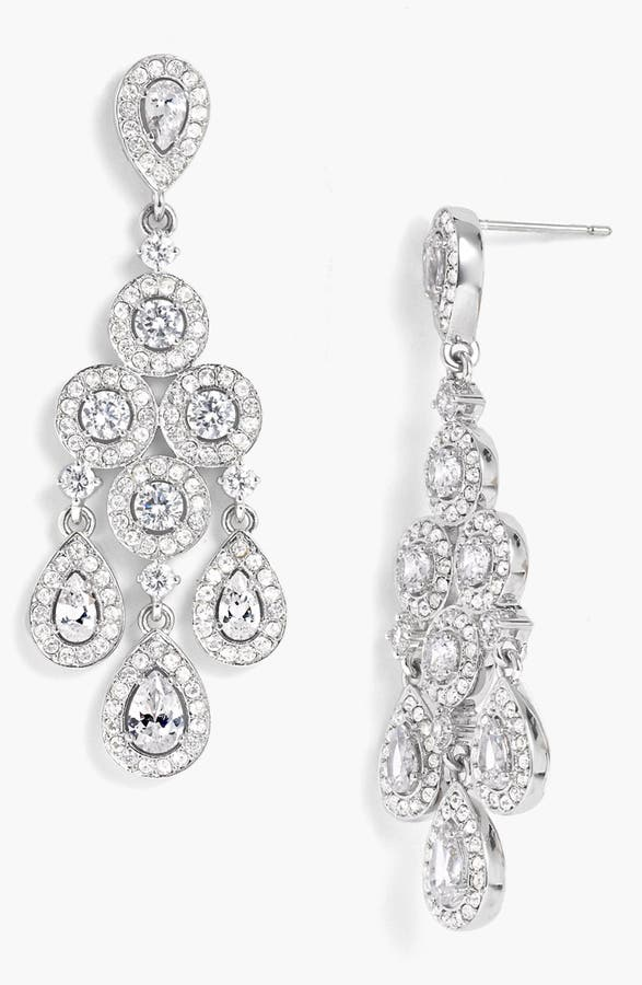 Nadri Framed Chandelier Earrings | Nordstrom