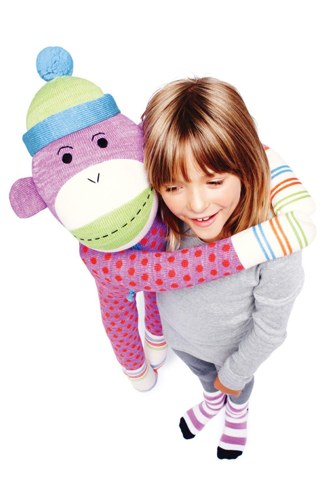 Alternate Image 3  - Genuine Monkeez & Friends 'Dotty - Jumbo' Stuffed Monkey
