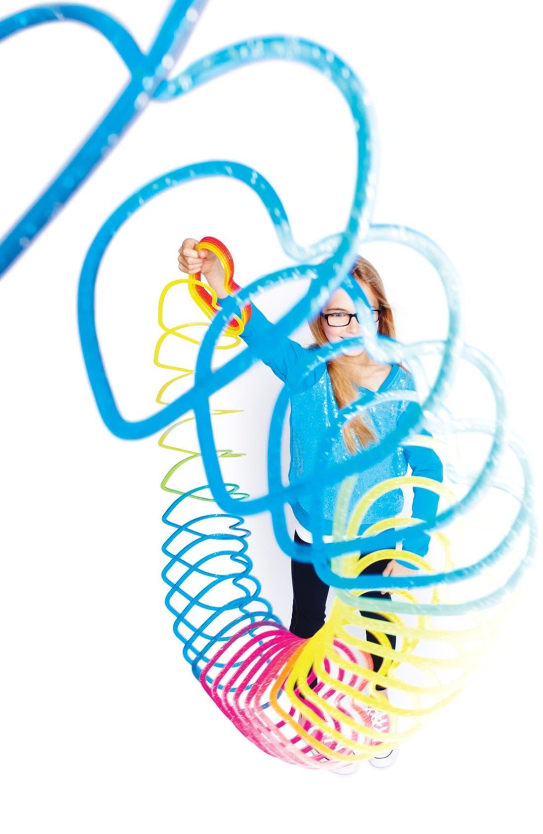Alternate Image 4  - Master Toys Glitter Heart Slinky, Large