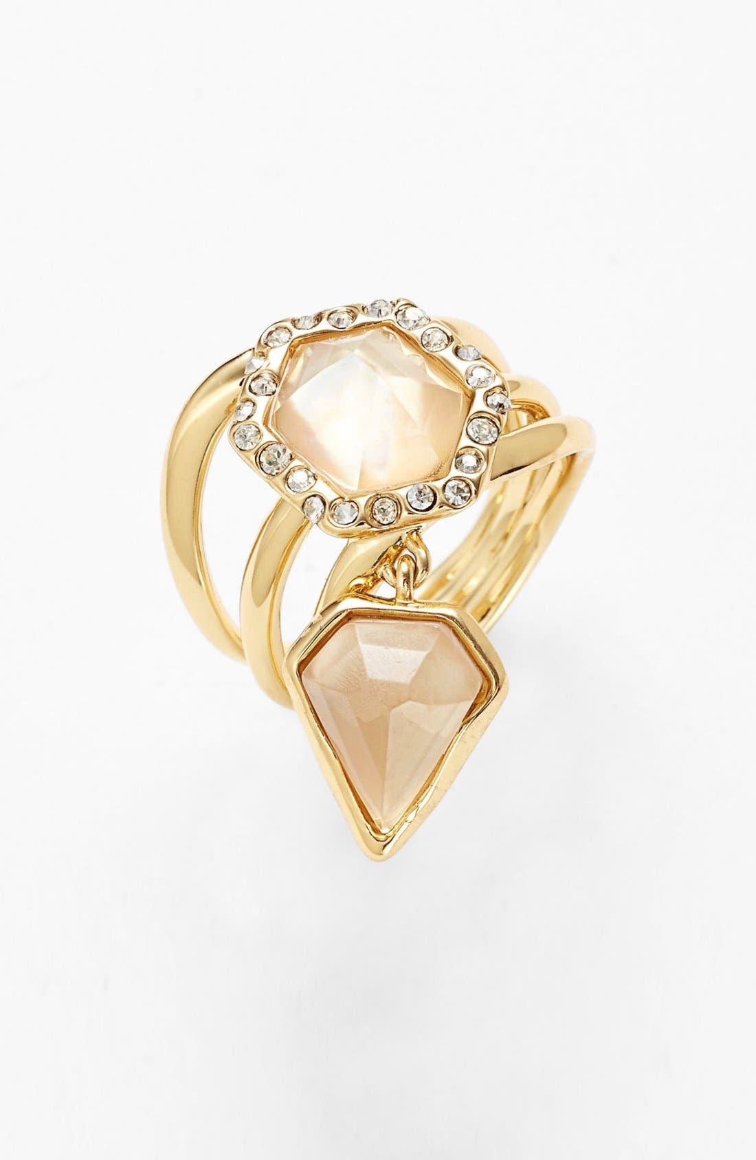 Alternate Image 1 Selected - Alexis Bittar 'Miss Havisham' Charm Stack Ring