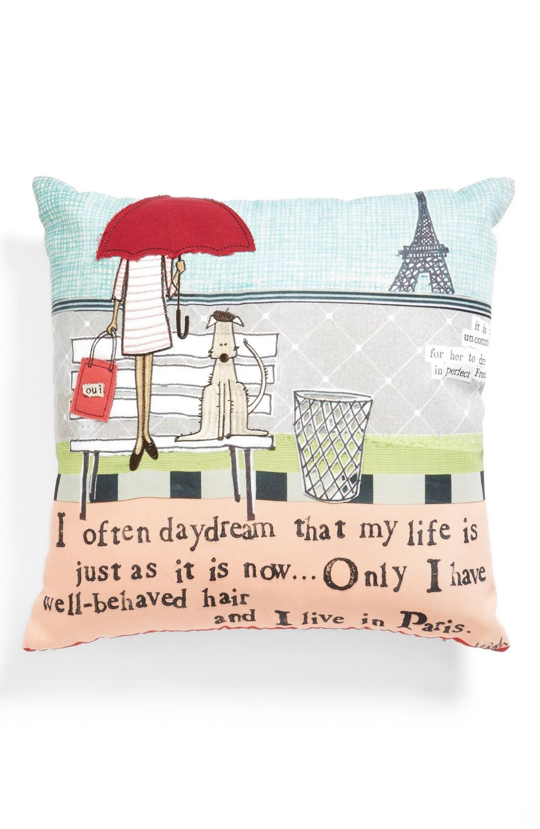 Alternate Image 1 Selected - Creative Co-Op 'Daydream' Pillow