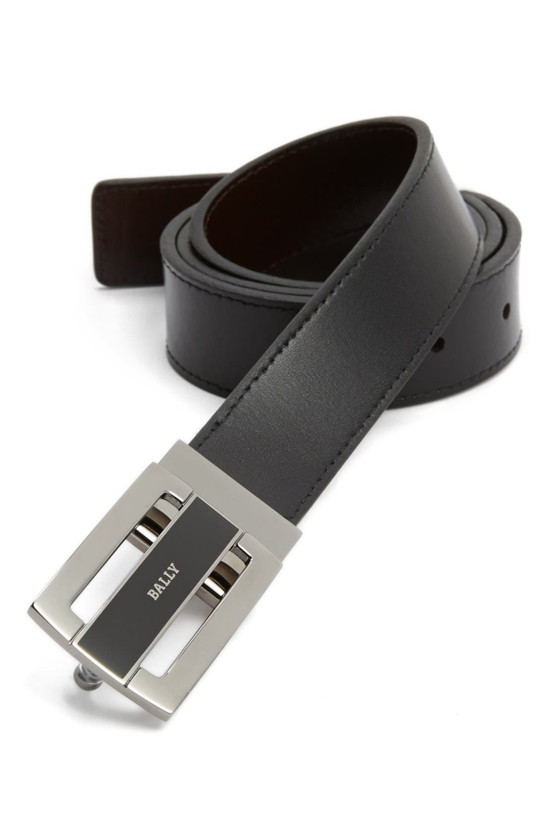 Main Image - Bally Reversible Calfskin Belt