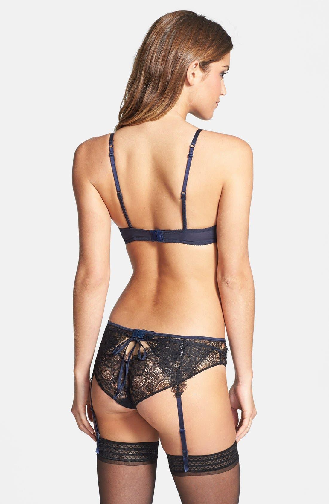 Alternate Image 4  - Elle Macpherson Body 'For You' Lace Garter Belt