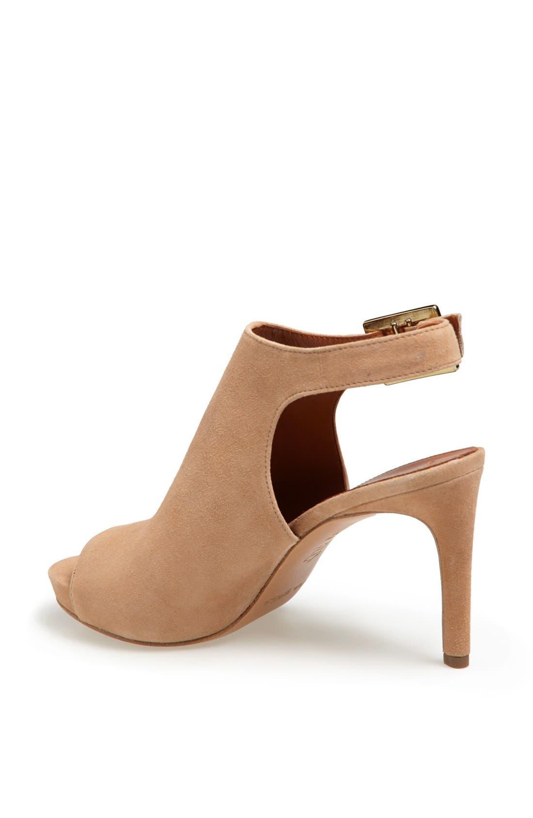'Nino' Ankle Strap Sandal,                             Alternate thumbnail 2, color,                             Desert Suede