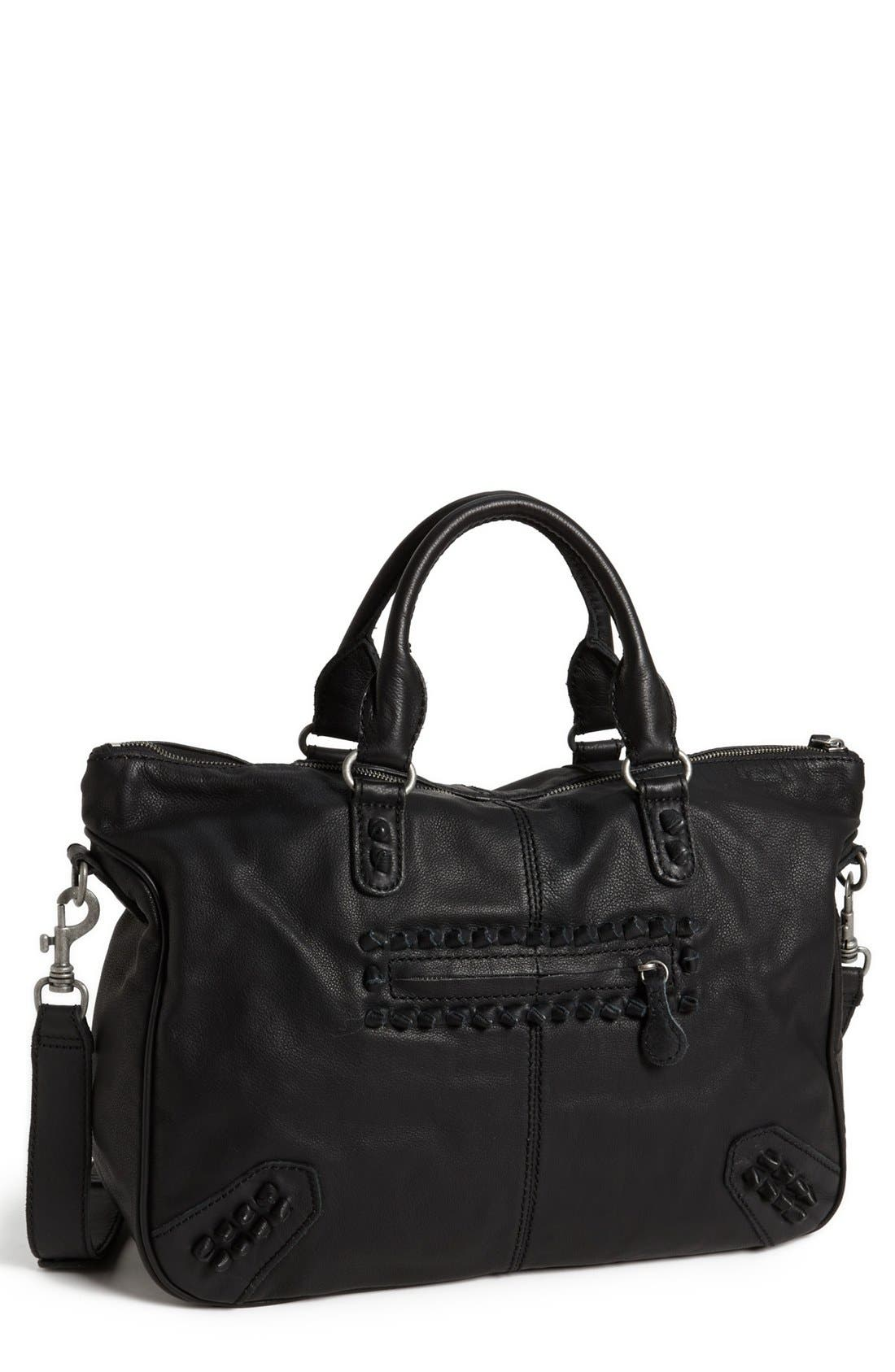Main Image - Liebeskind 'Vintage Knot' Leather Satchel