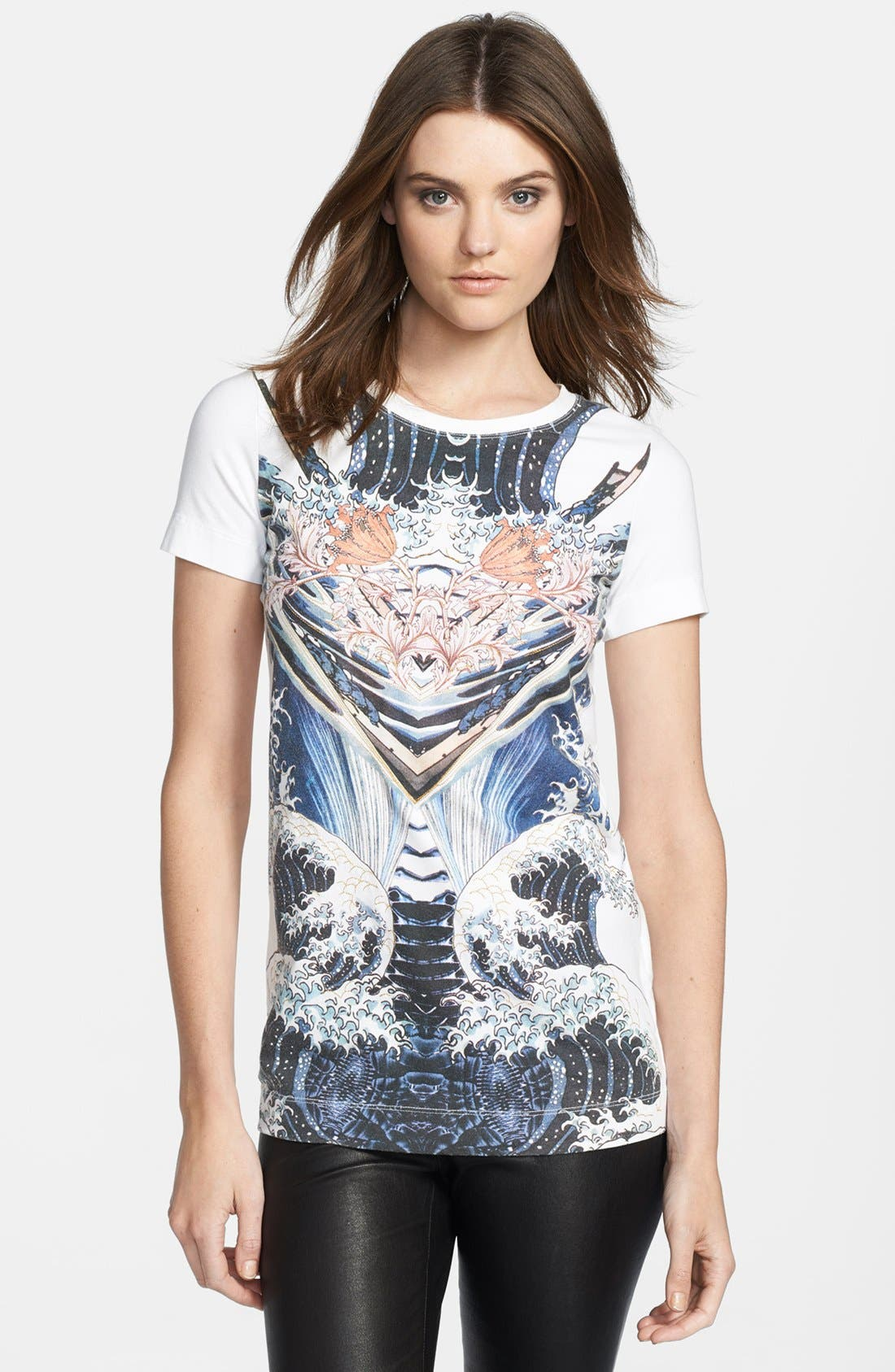 Main Image - Just Cavalli Short Sleeve Print Tee
