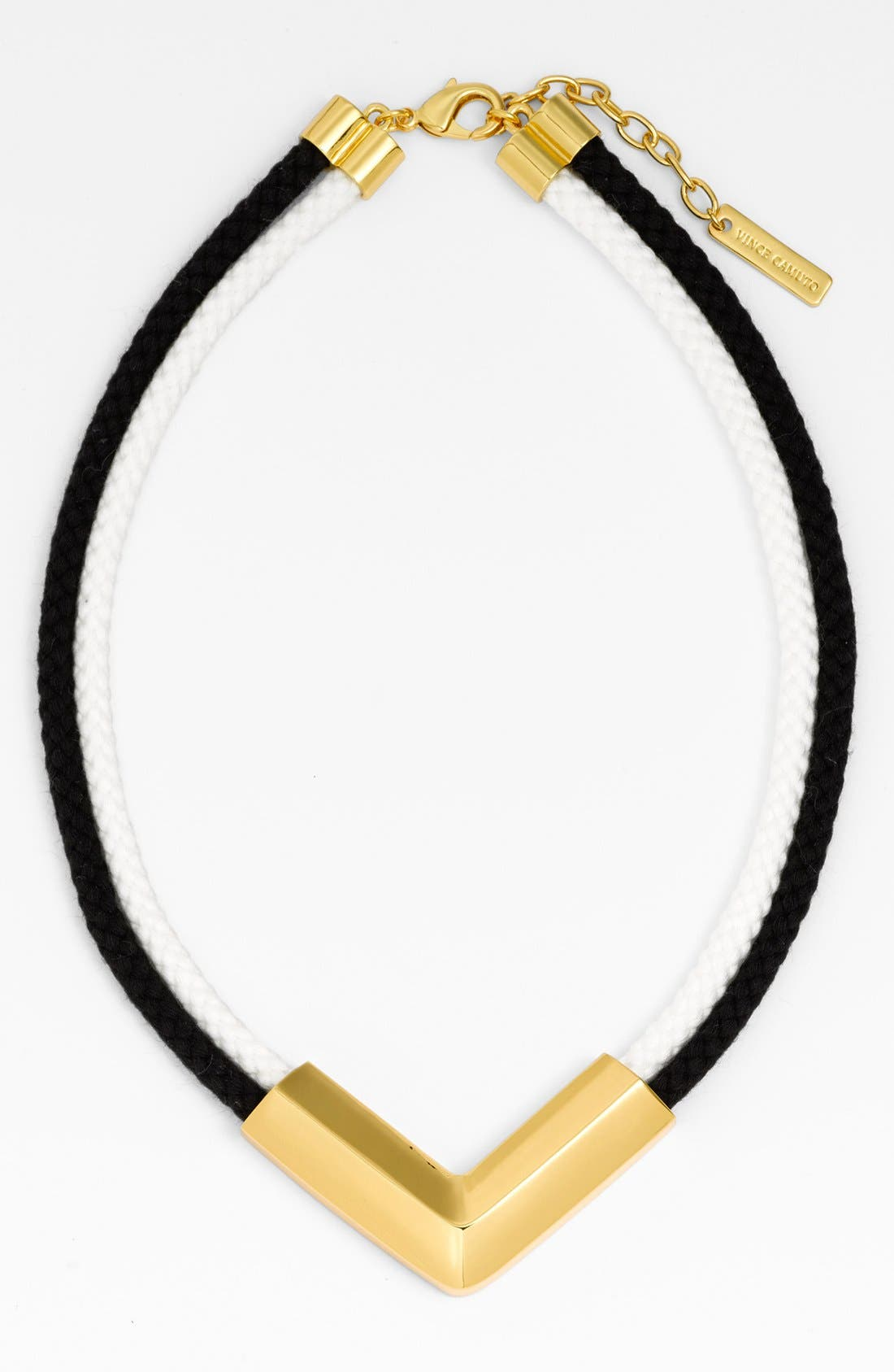 Alternate Image 2  - Vince Camuto Rope Statement Necklace