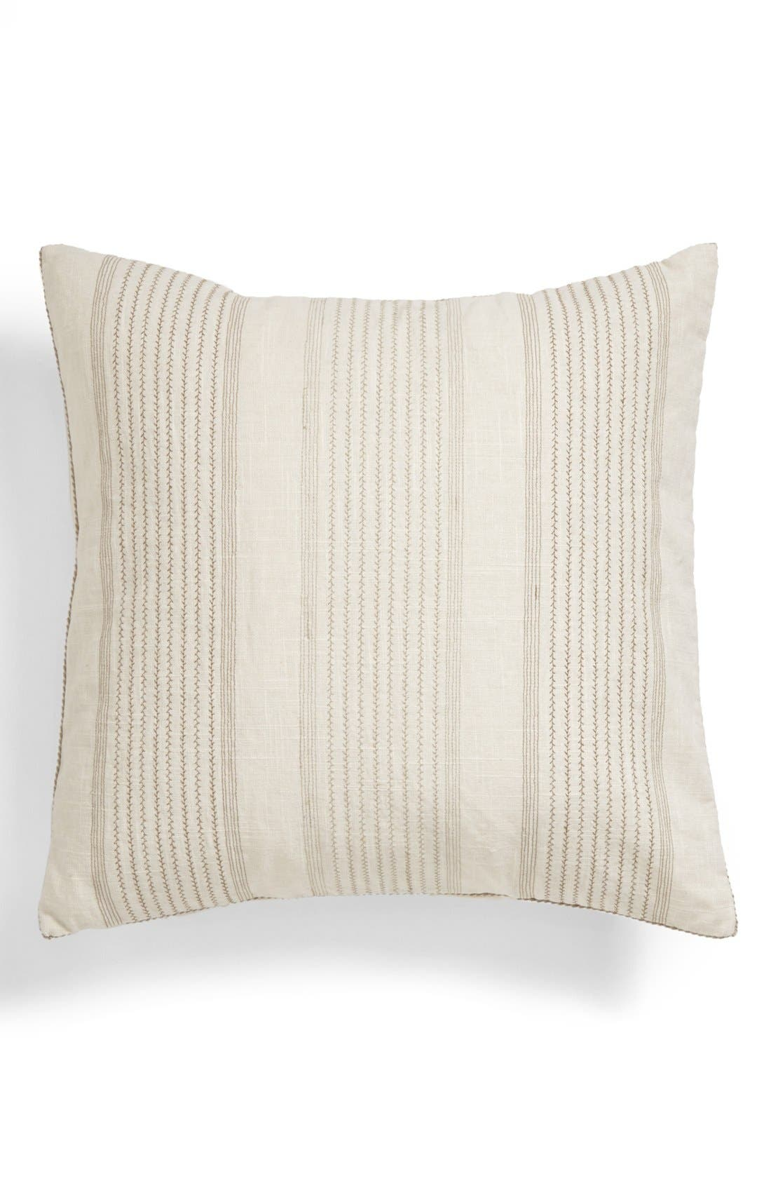 Alternate Image 1 Selected - Vera Wang Stripe Pillow