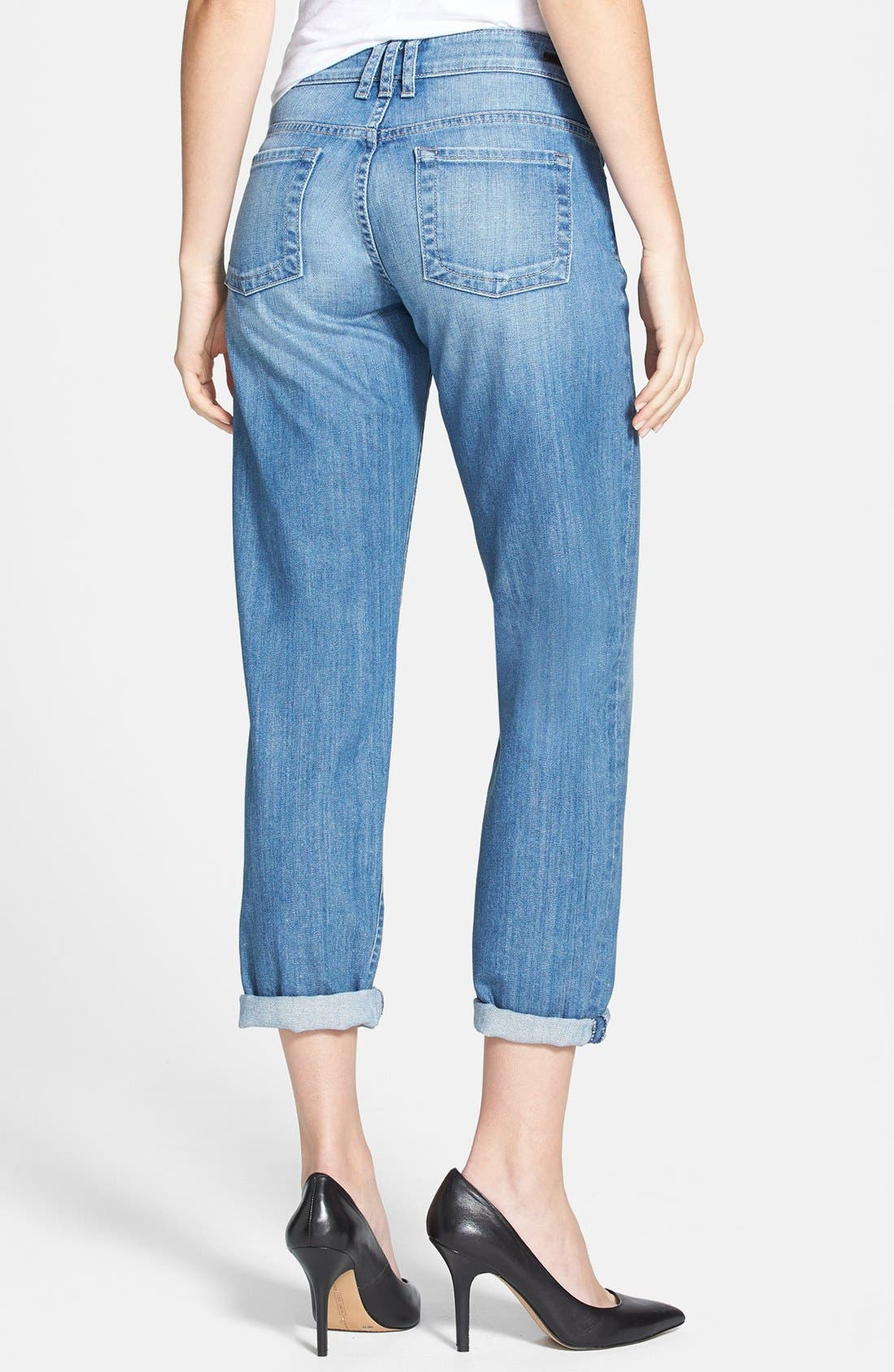 Alternate Image 2  - KUT from the Kloth 'Catherine' Slim Boyfriend Jeans (Exceptional) (Regular & Petite)