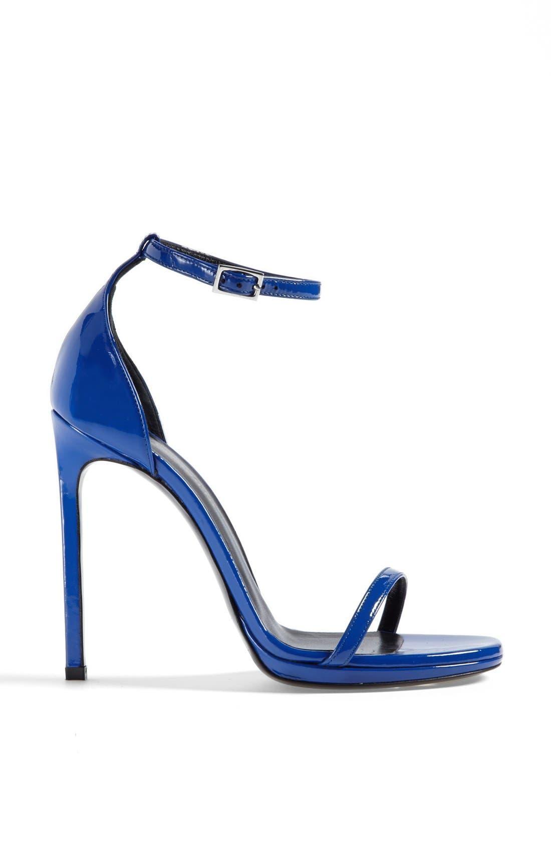 Alternate Image 4  - Saint Laurent 'Jane' Ankle Strap Leather Sandal