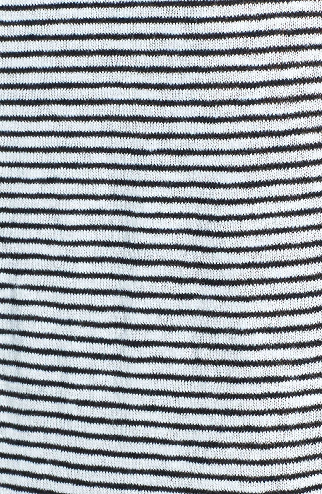 Alternate Image 2  - Eileen Fisher Boatneck Stripe Sweater