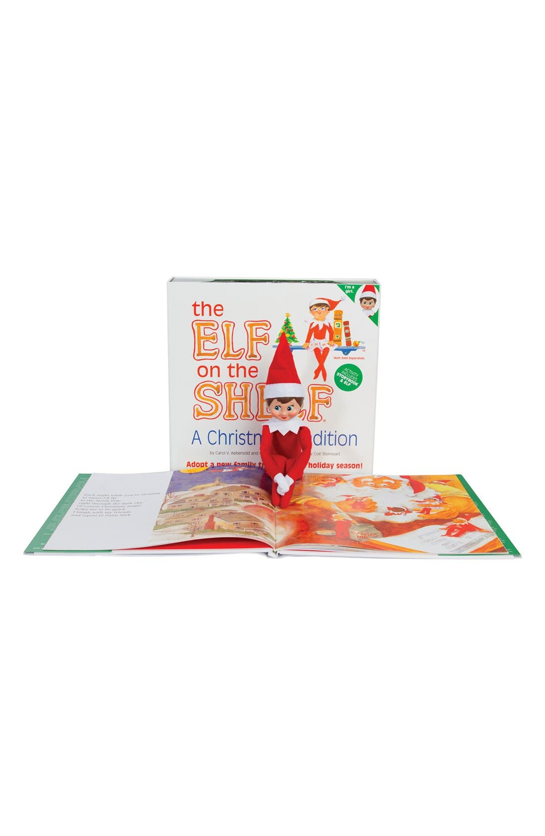 Alternate Image 2  - Carol Aebersold and Chanda Bell 'The Elf on the Shelf®: A Christmas Tradition™' Book & Elf
