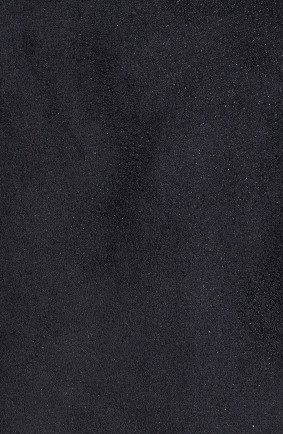 Alternate Image 3  - Romeo & Juliet Couture Faux Fur Trim Faux Suede Jacket