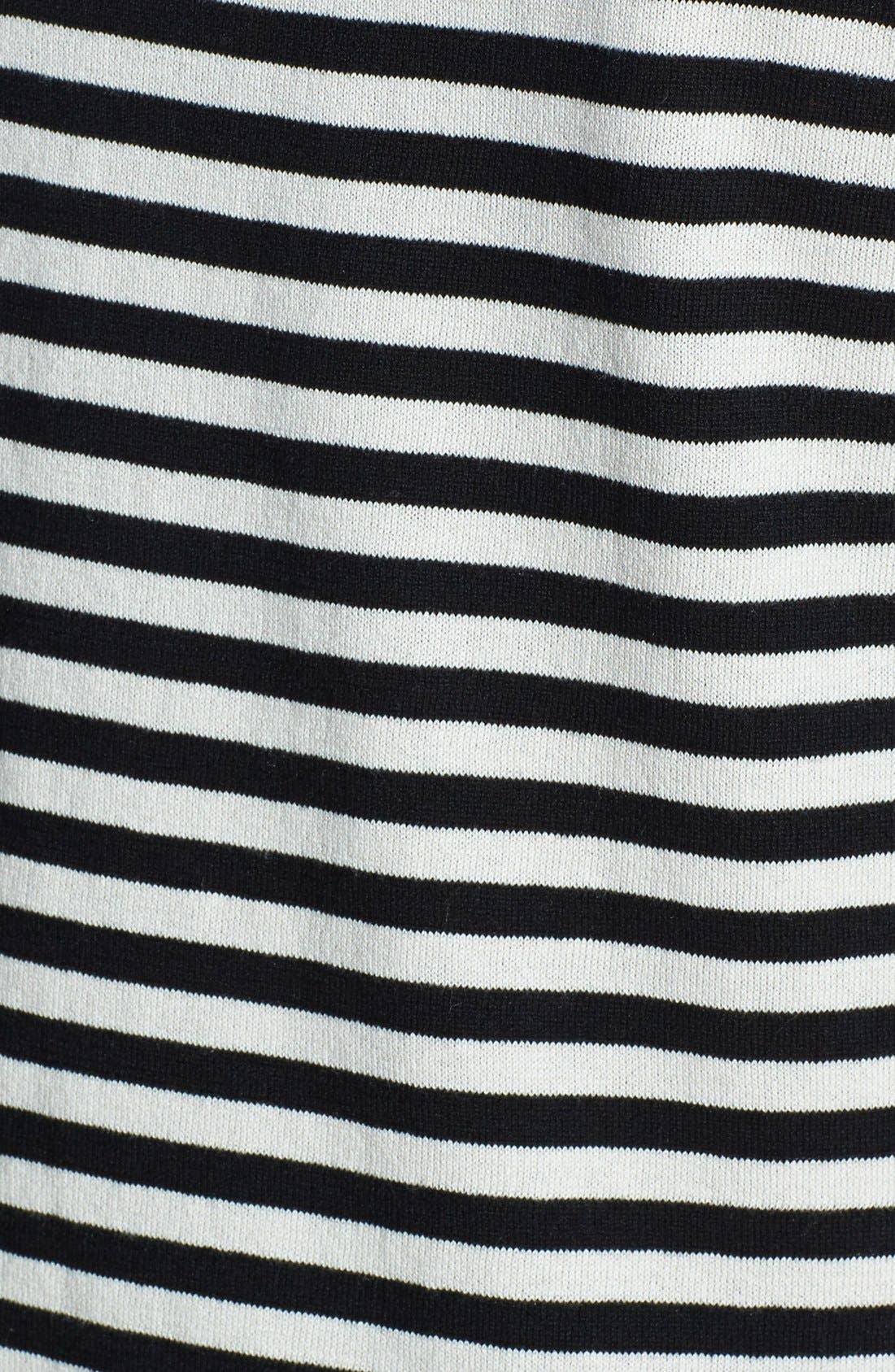 Alternate Image 3  - Weekend Max Mara 'Bambo' Stripe Silk & Cotton Sweater