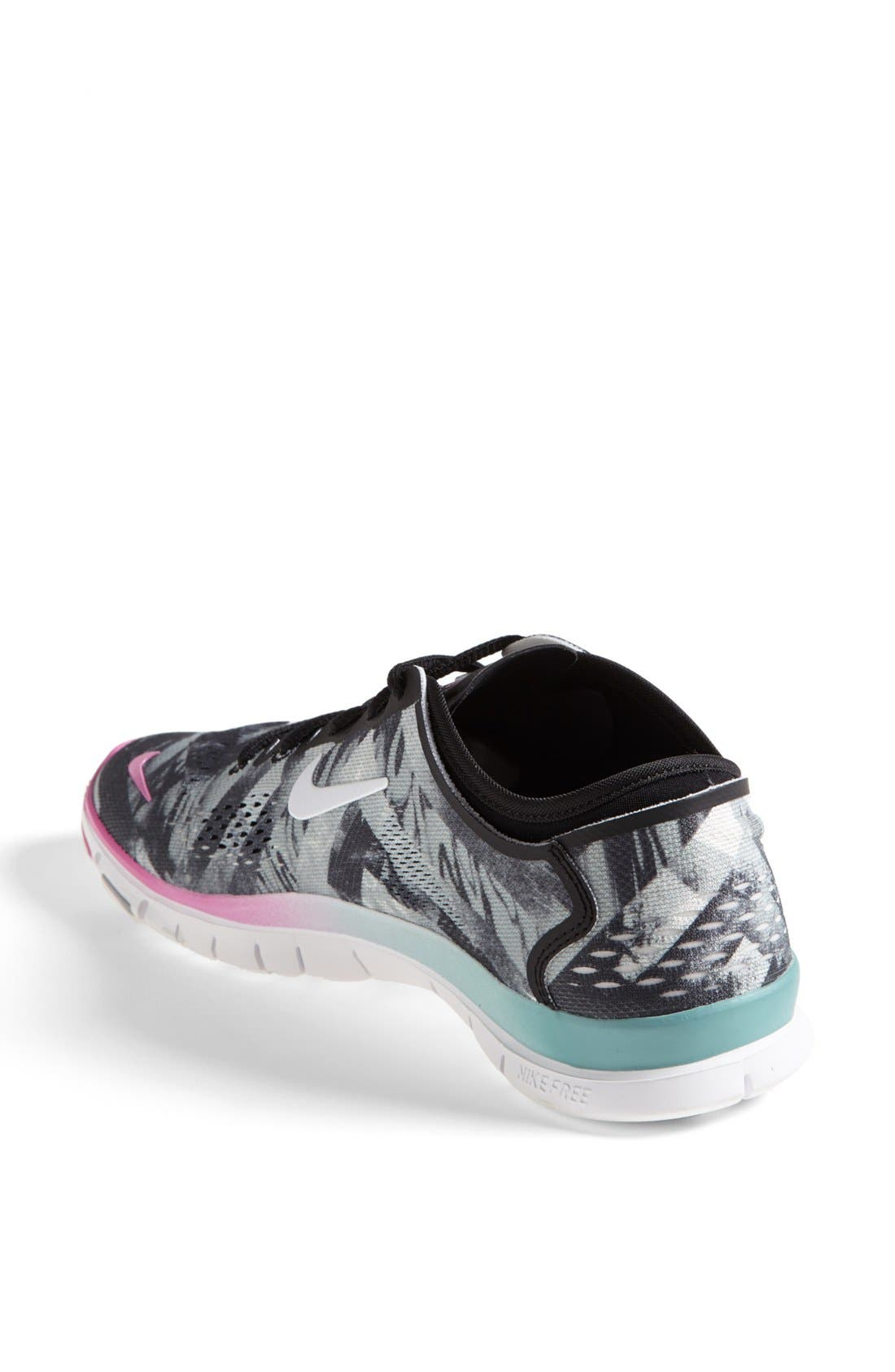 Alternate Image 2  - Nike 'Free 5.0 TR Fit 4' Print Training Shoe (Women)