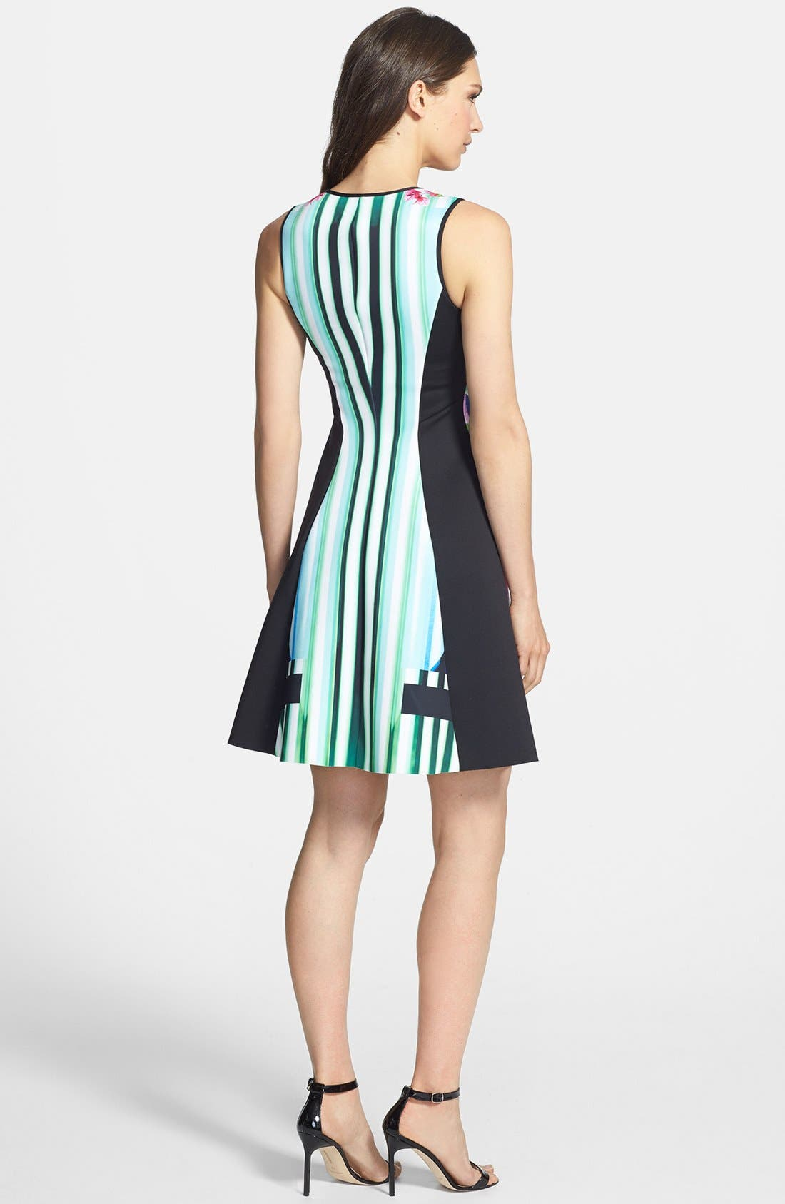 Alternate Image 2  - Clover Canyon 'Hollywood Bowl' Fit & Flare Dress