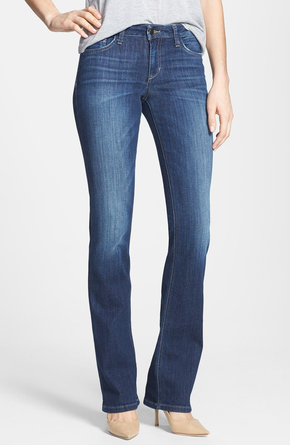 Alternate Image 1 Selected - Joe's Curvy Bootcut Jeans (Beaven)