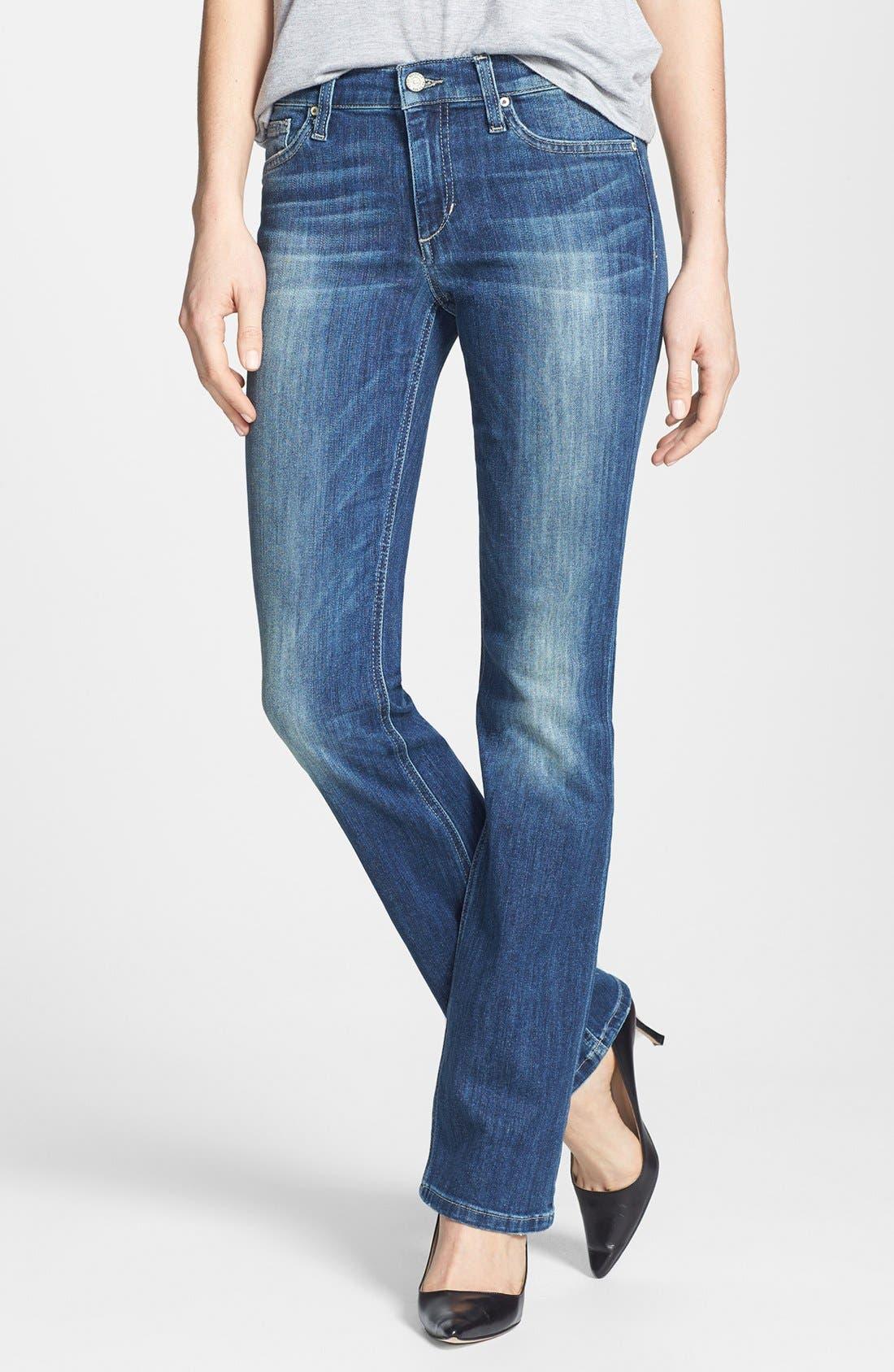 Bootcut Jeans,                         Main,                         color, Laurel