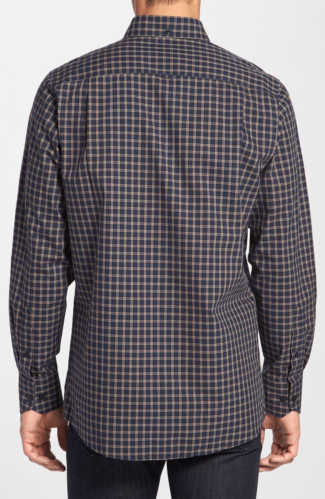 Alternate Image 2  - Nordstrom Smartcare™ Regular Fit Plaid Sport Shirt