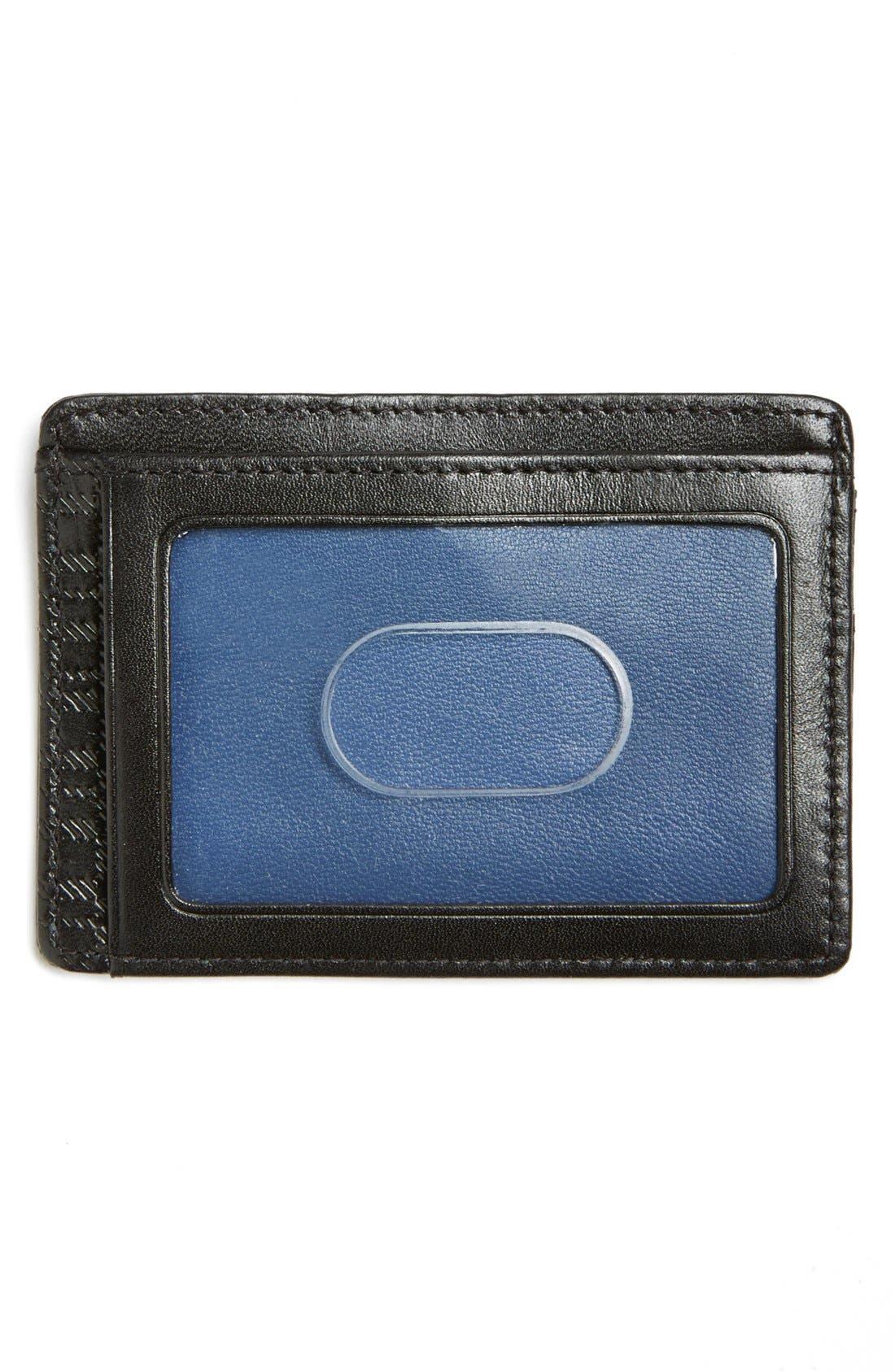 Alternate Image 2  - Boconi Leather Card Case