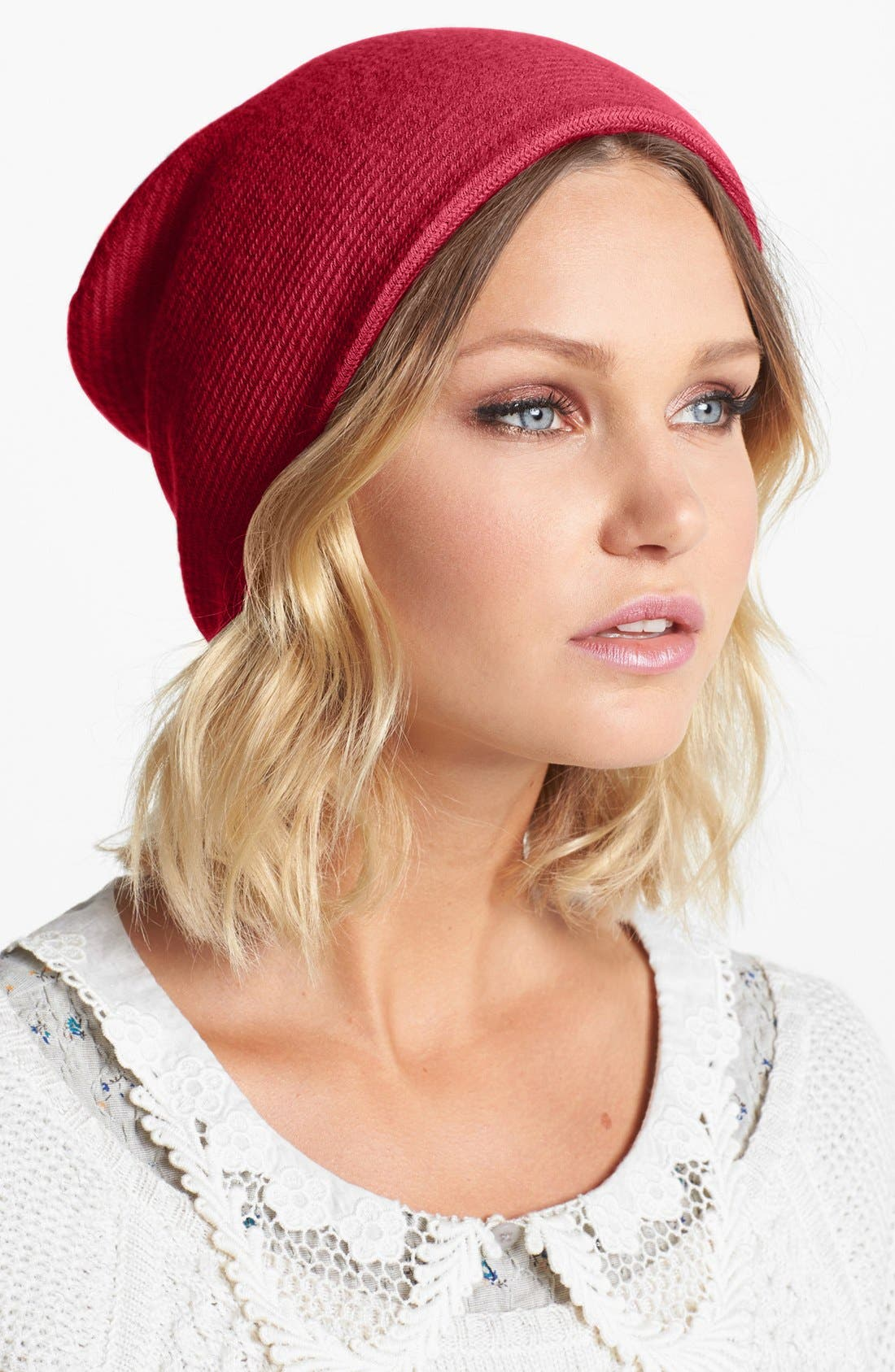 Alternate Image 1 Selected - Echo 'Milk Made' Slouchy Beanie