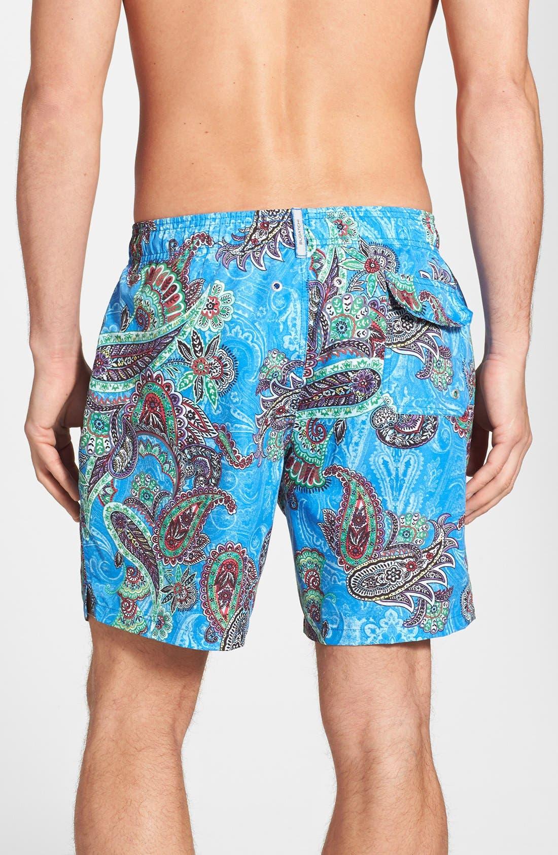 Alternate Image 2  - Bugatchi Swim Trunks