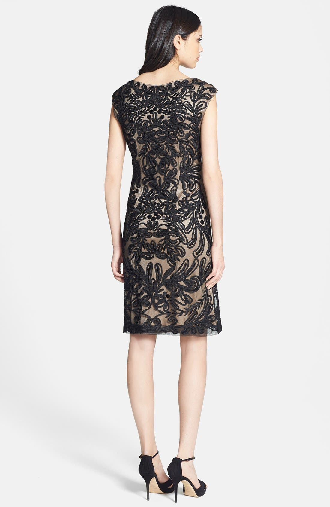 Alternate Image 2  - Sue Wong Embroidered Sheath Dress