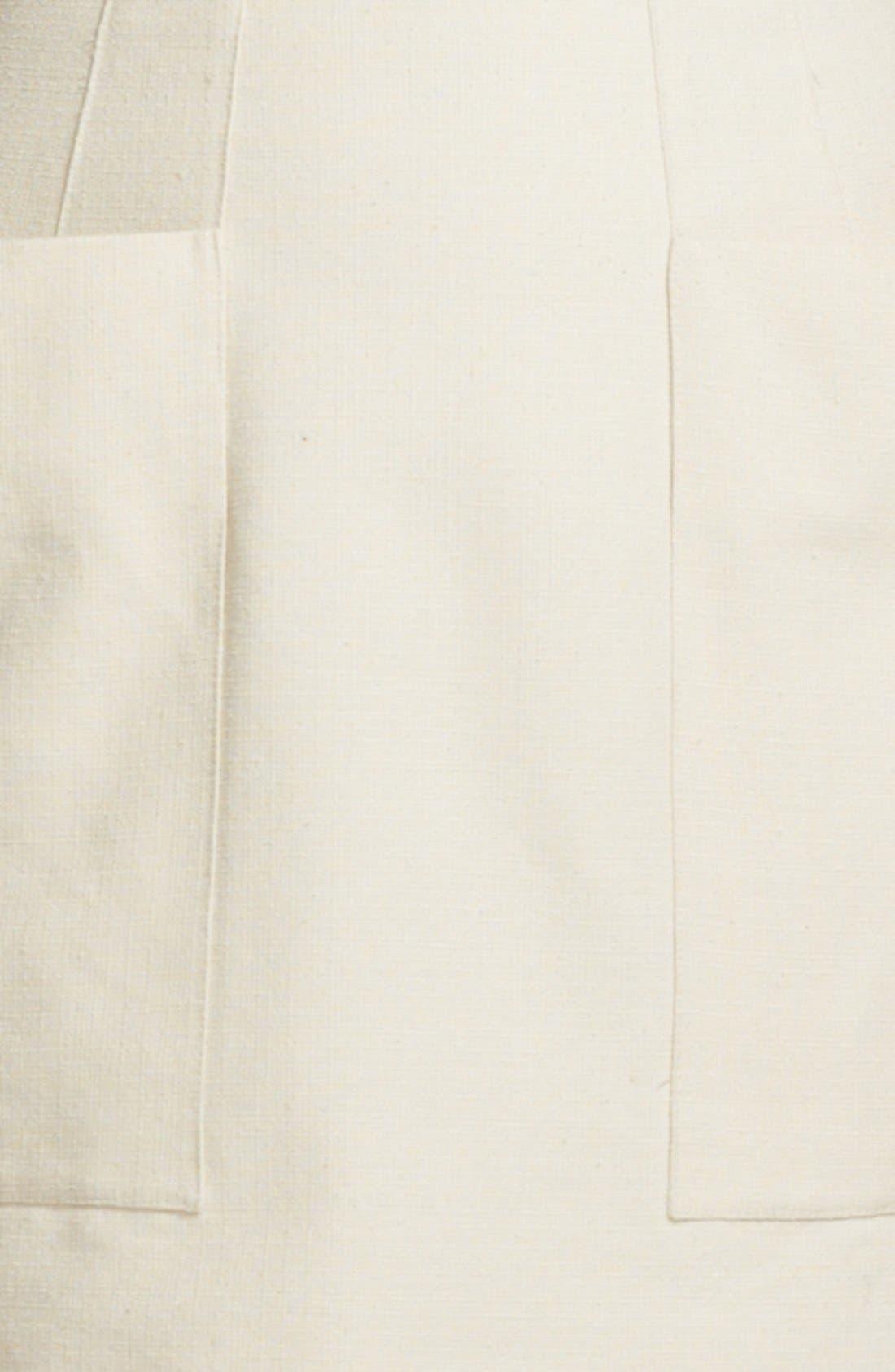 Alternate Image 3  - Alexander McQueen Belted Canvas Dress