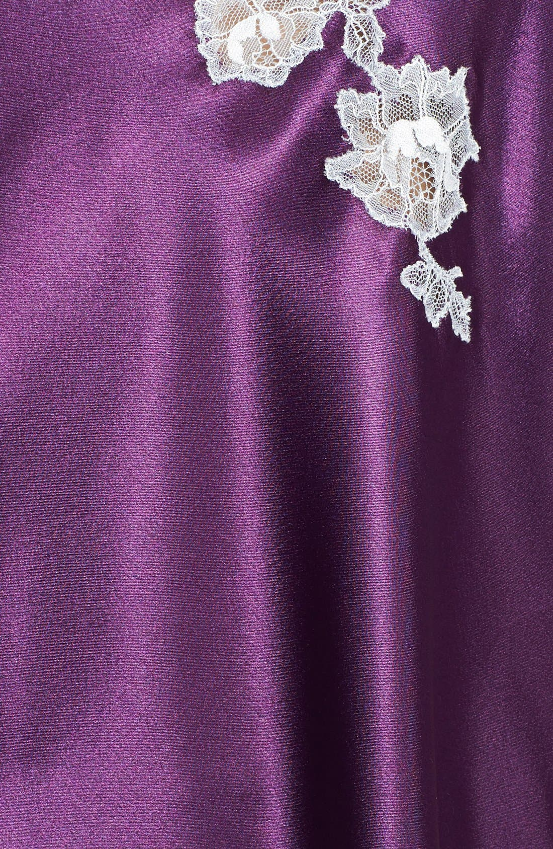 Alternate Image 3  - Oscar de la Renta Sleepwear 'Lavish Lace' Shorty Pajamas