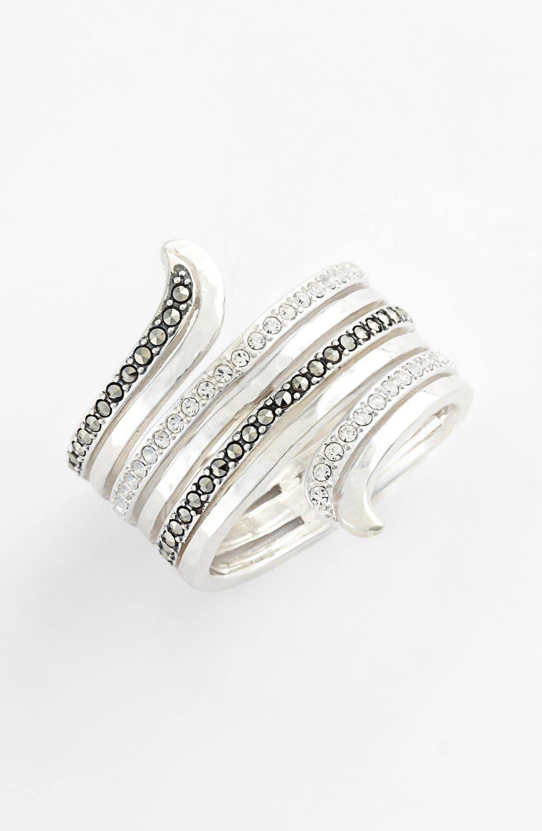 Main Image - Judith Jack Hammered Ring