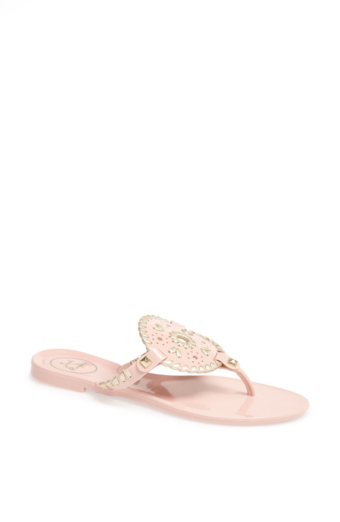 Alternate Image 1 Selected - Jack Rogers 'Georgica' Jelly Flip Flop (Women)