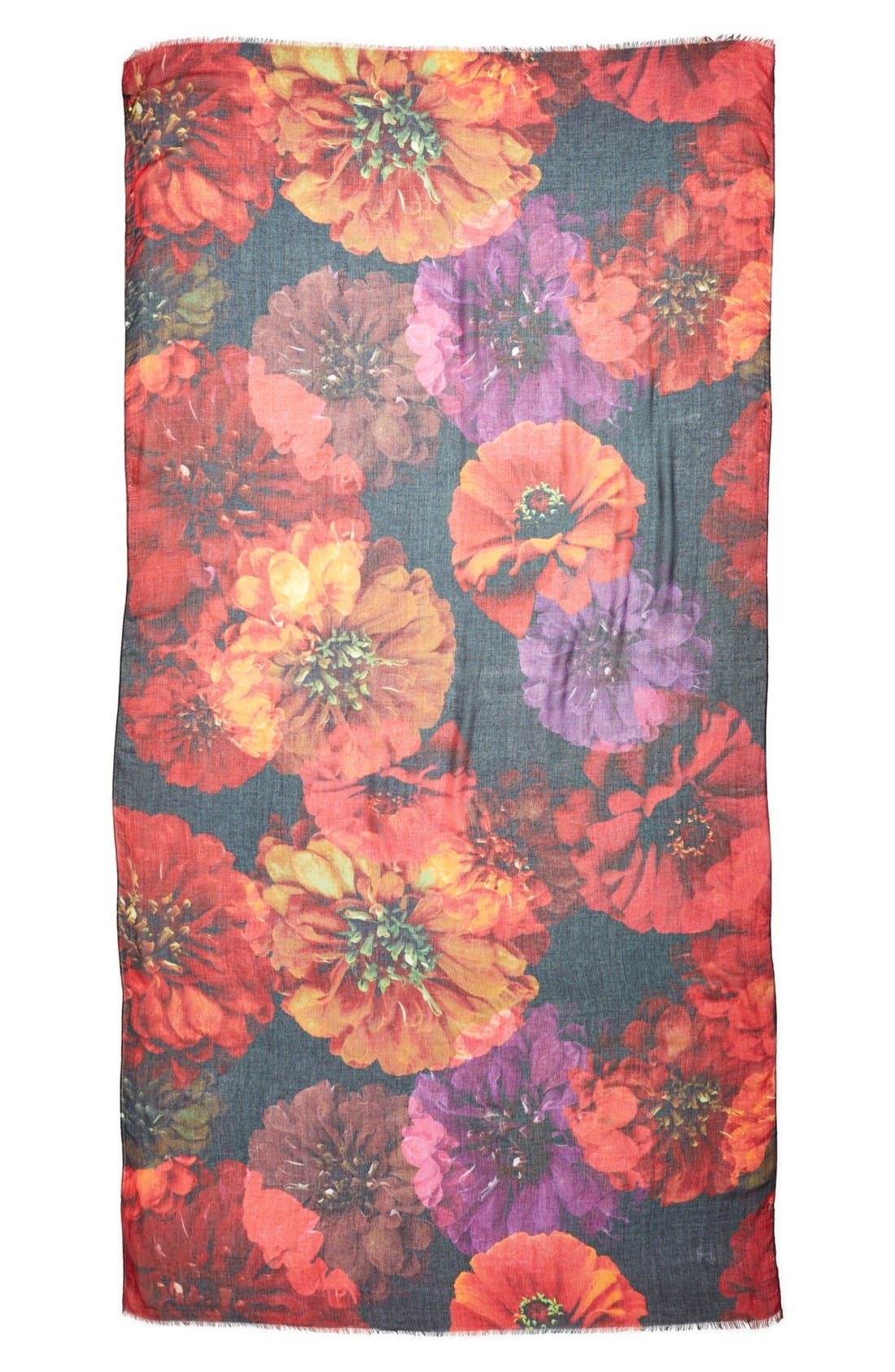 Alternate Image 2  - Echo 'Photographic Floral' Scarf