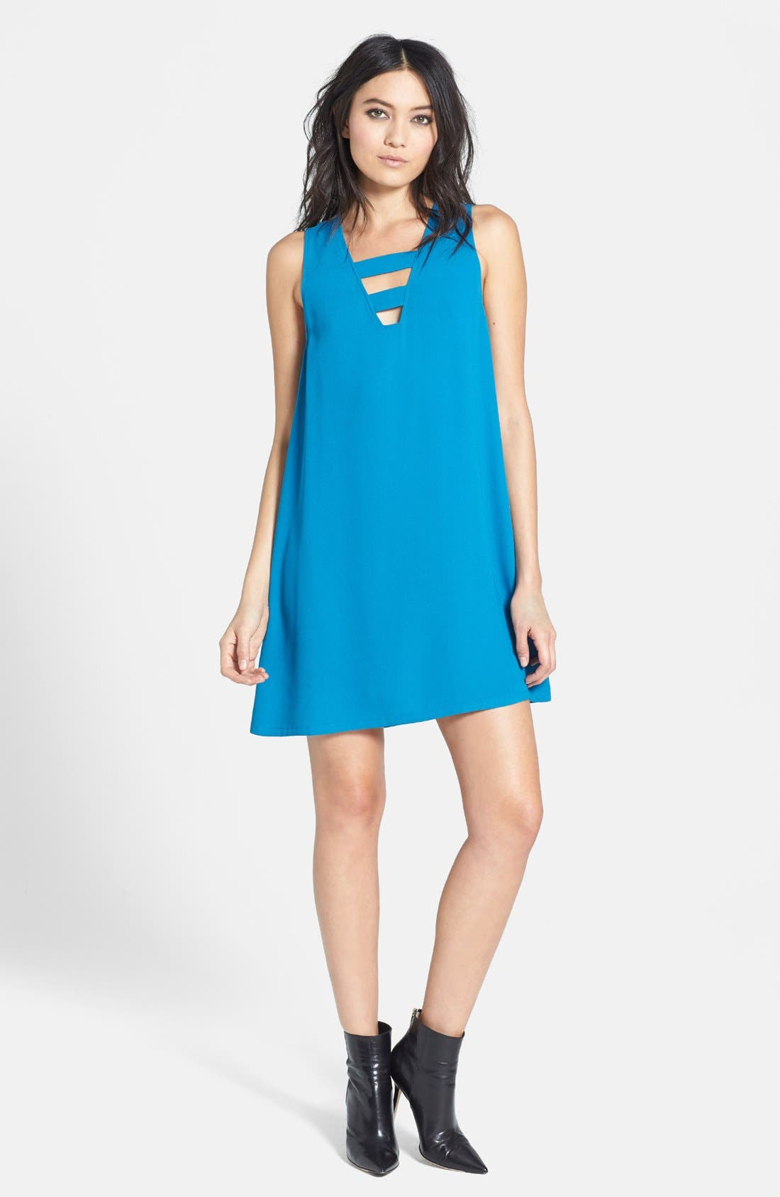 Alternate Image 1 Selected - Tildon Cutout Shift Dress