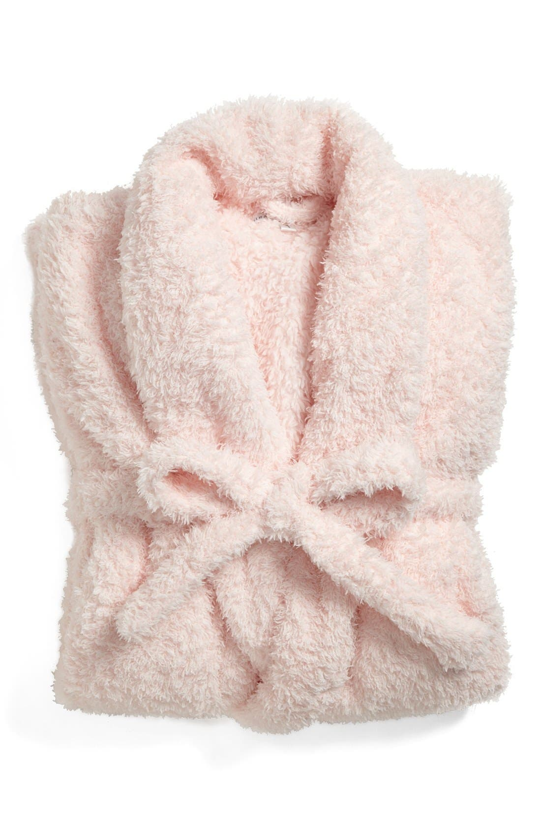 Stretch Chenille Robe,                             Main thumbnail 1, color,                             Pink