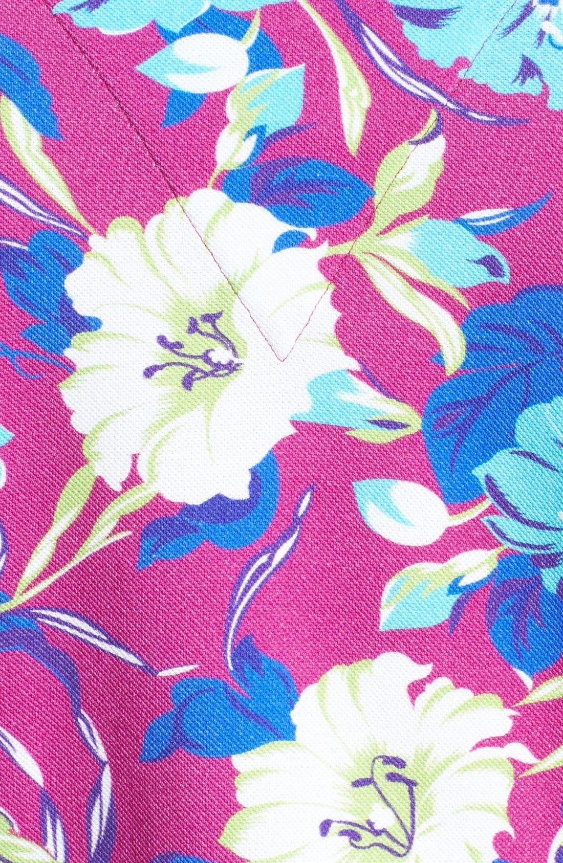 Alternate Image 3  - Etro Floral Print Piqué Polo