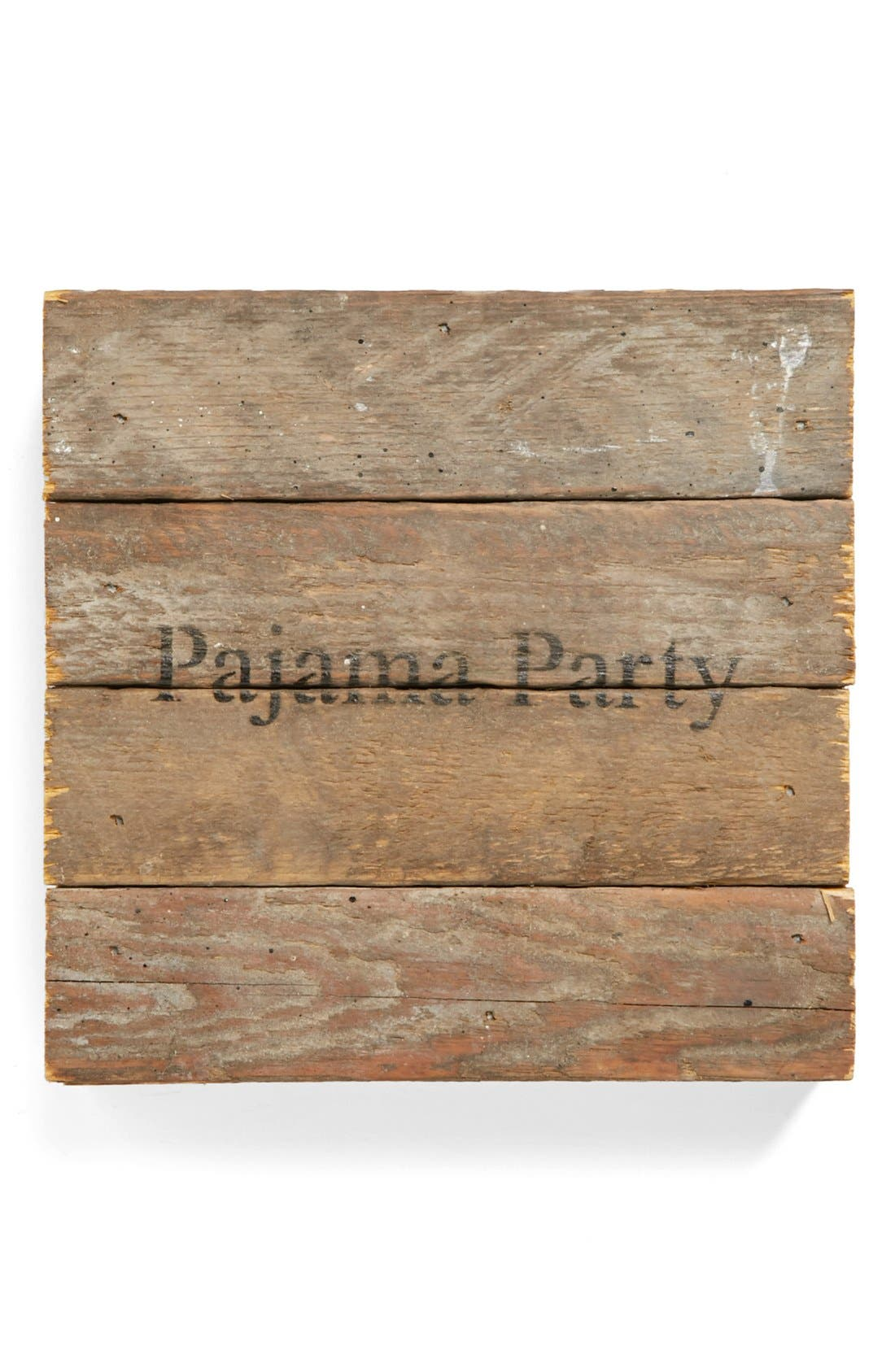Main Image - Second Nature By Hand 'Pajama Party' Repurposed Wood Wall Art