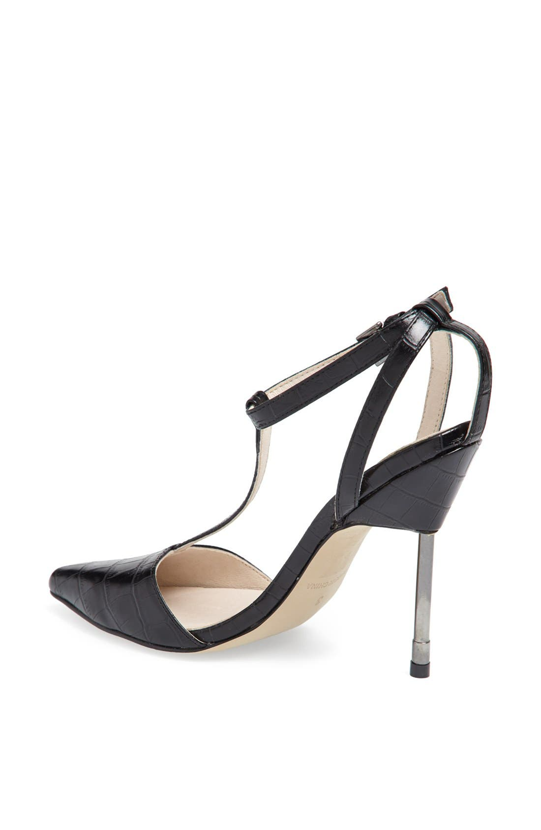 Alternate Image 2  - Topshop 'Ghost' T-Strap Pump