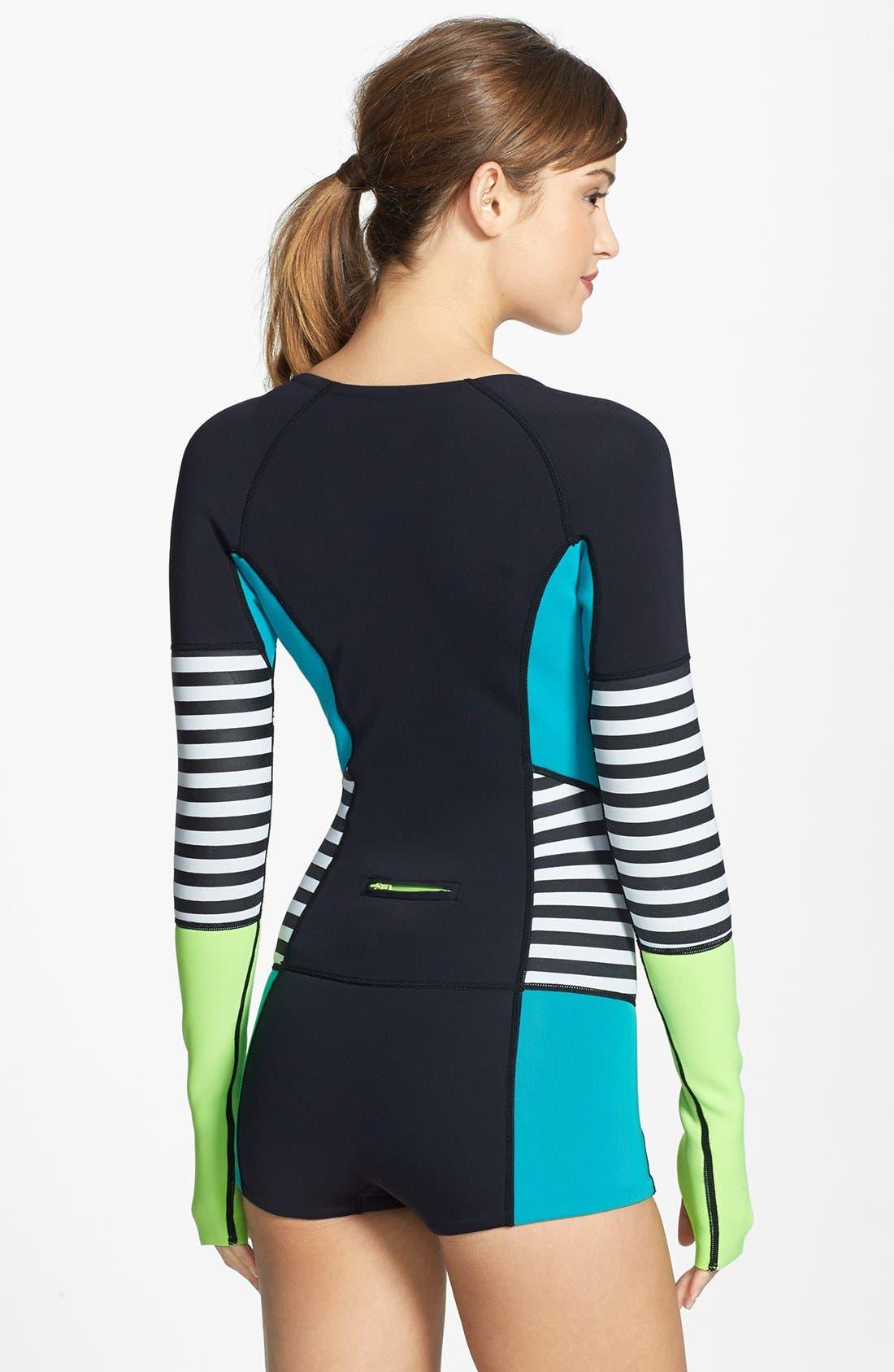 Alternate Image 2  - Roxy 'Waveline' Spring Wetsuit