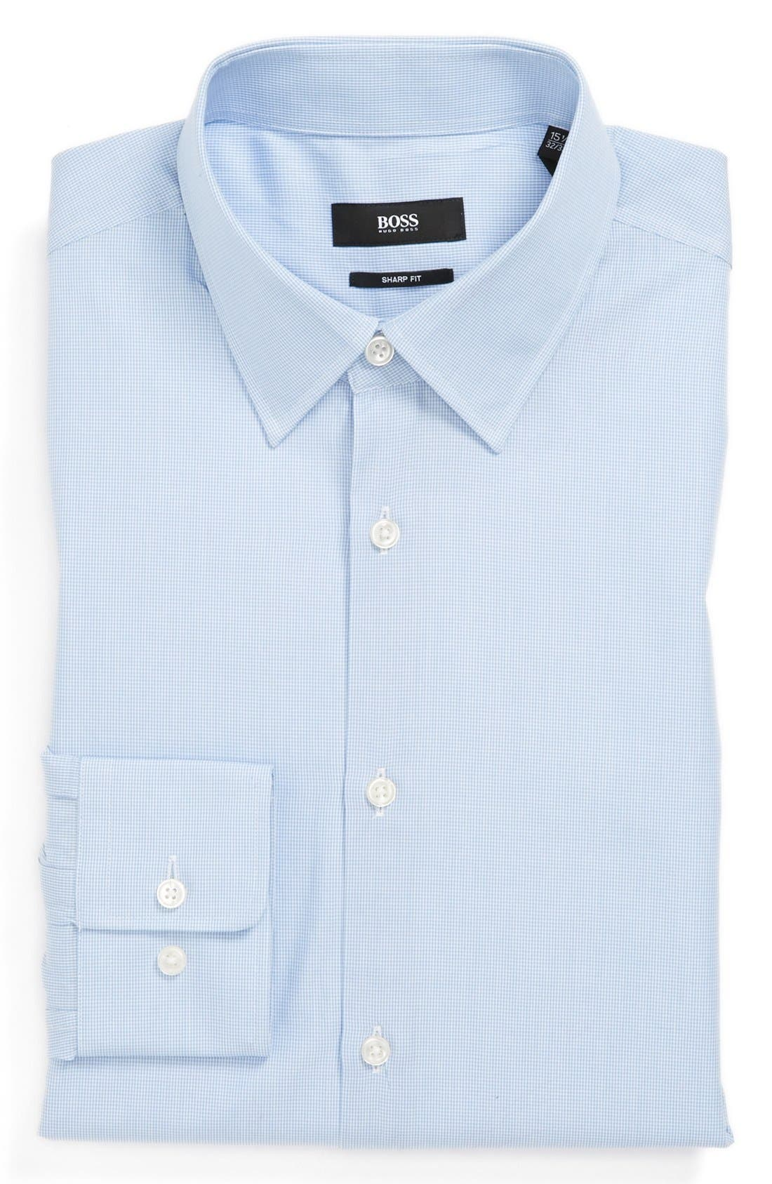 Alternate Image 1 Selected - BOSS 'Marlow' Sharp Fit Dress Shirt
