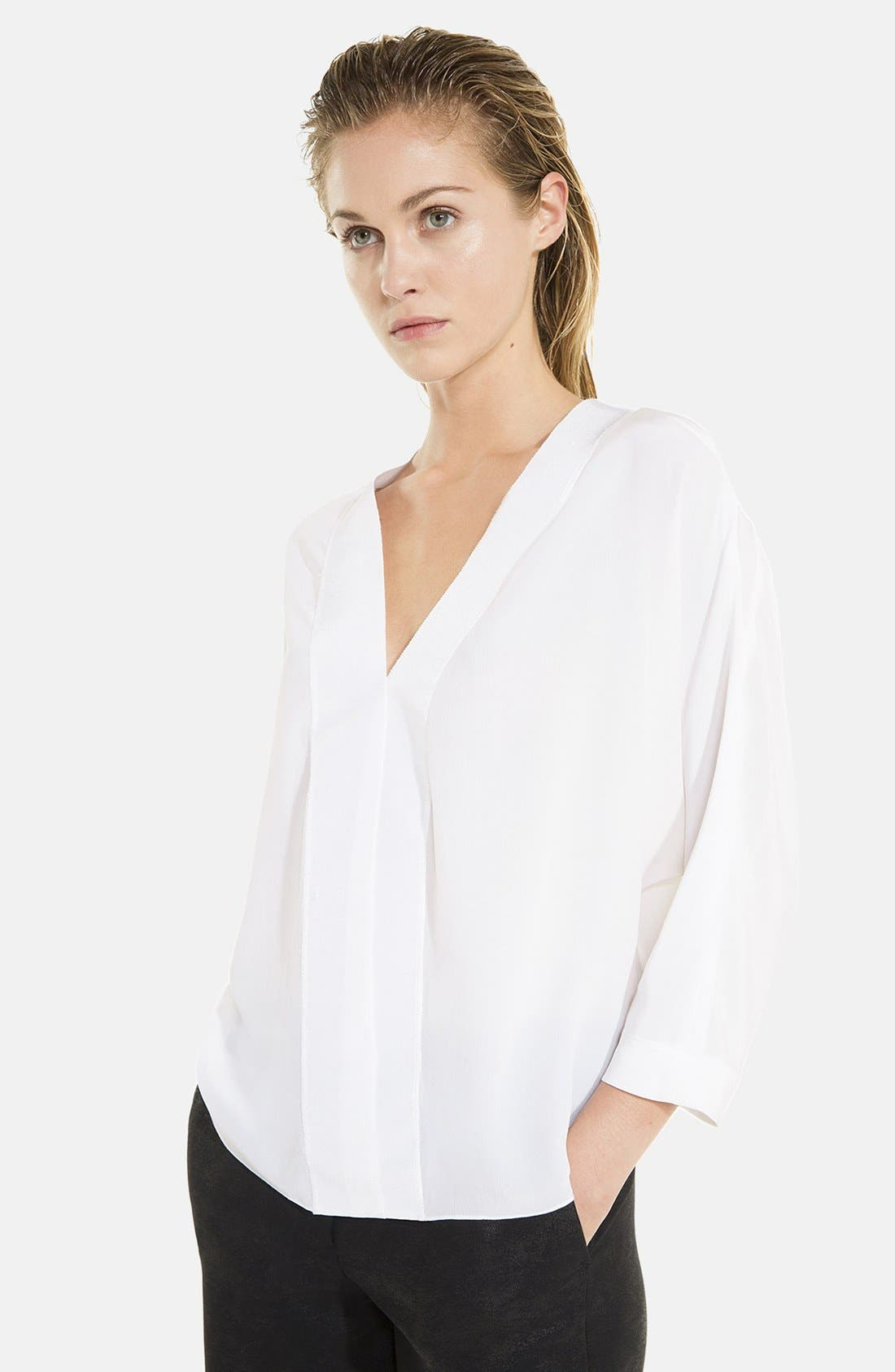 Main Image - sandro 'Efficient' Blouse