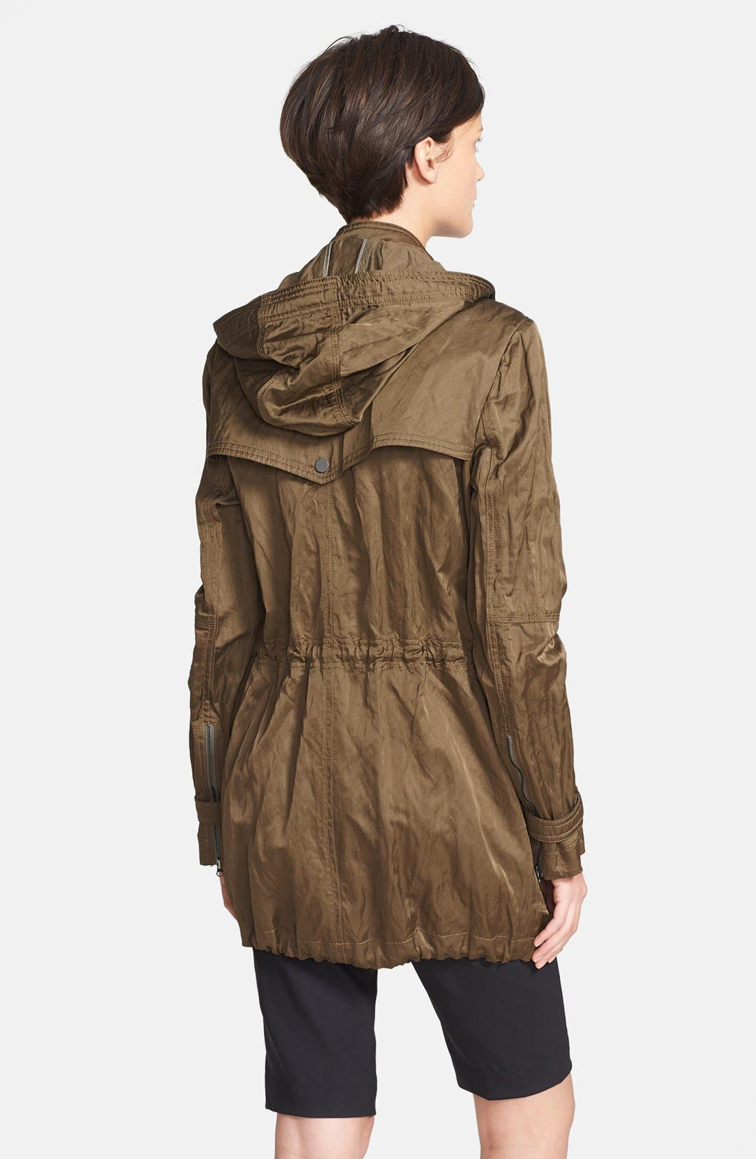 'Luxe' Anorak Jacket,                             Alternate thumbnail 2, color,                             Green