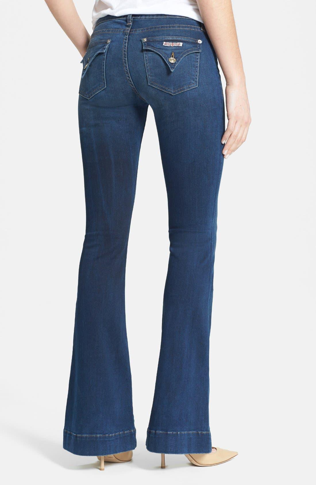 Alternate Image 2  - Hudson Jeans 'Ferris' Flare Leg Jeans (Wanderlust)