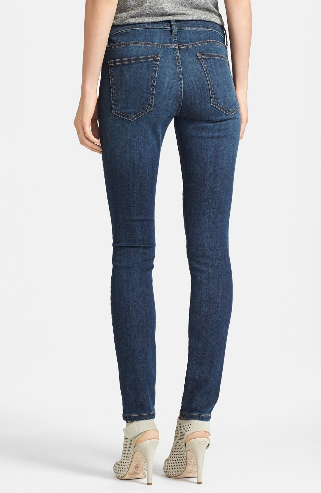 Alternate Image 2  - Current/Elliott 'The Ankle' Skinny Jeans (Stagecoach)
