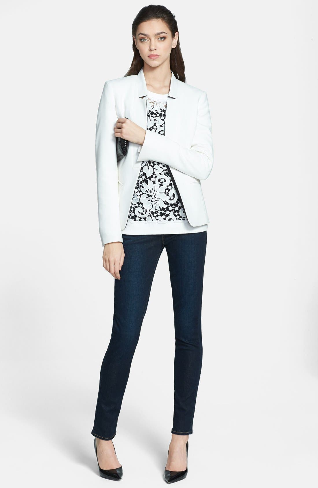 Alternate Image 4  - Paige Denim 'Skyline' Skinny Jeans (Surface)