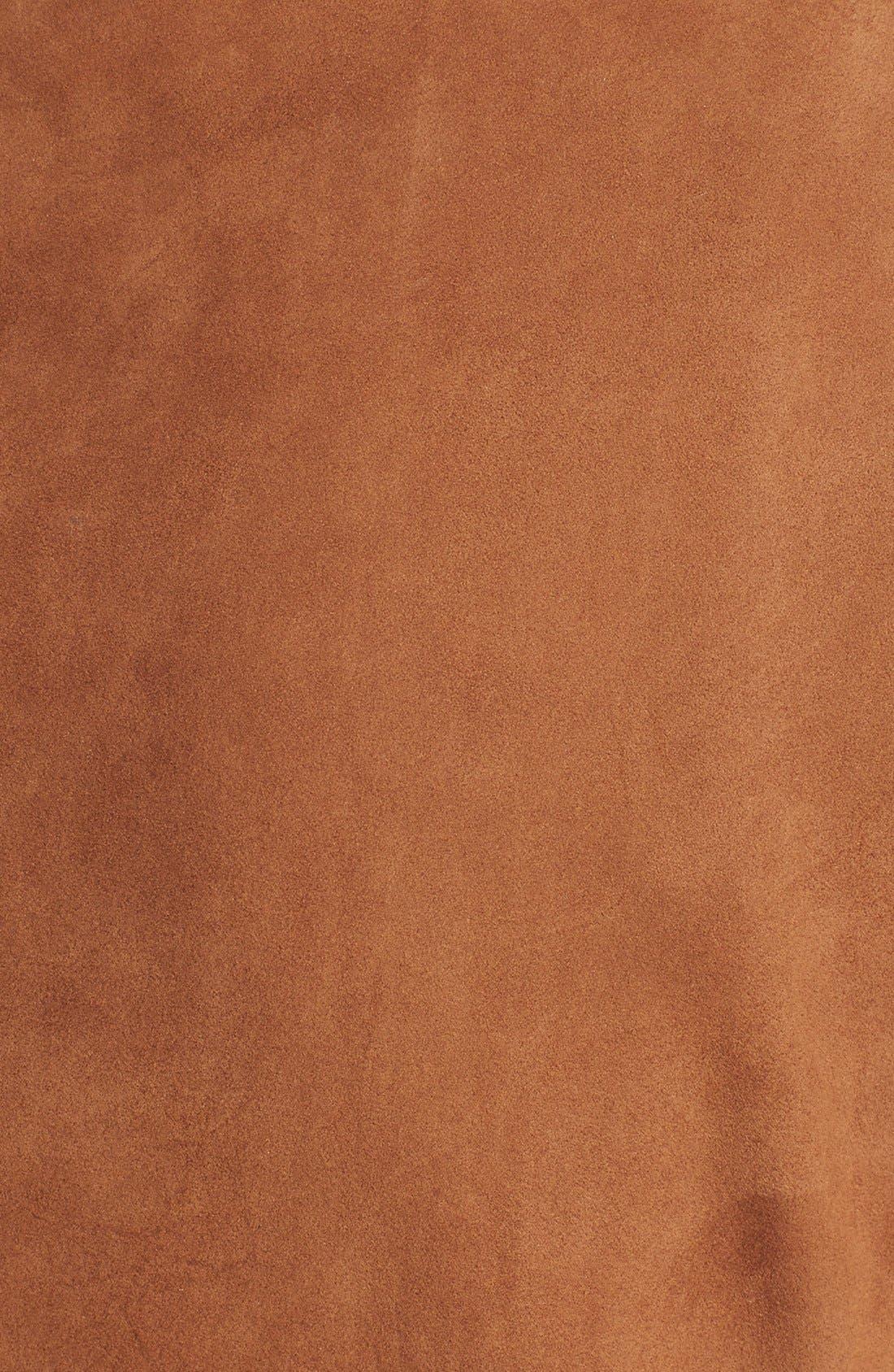 Alternate Image 3  - MICHAEL Michael Kors Drape Front Suede Vest