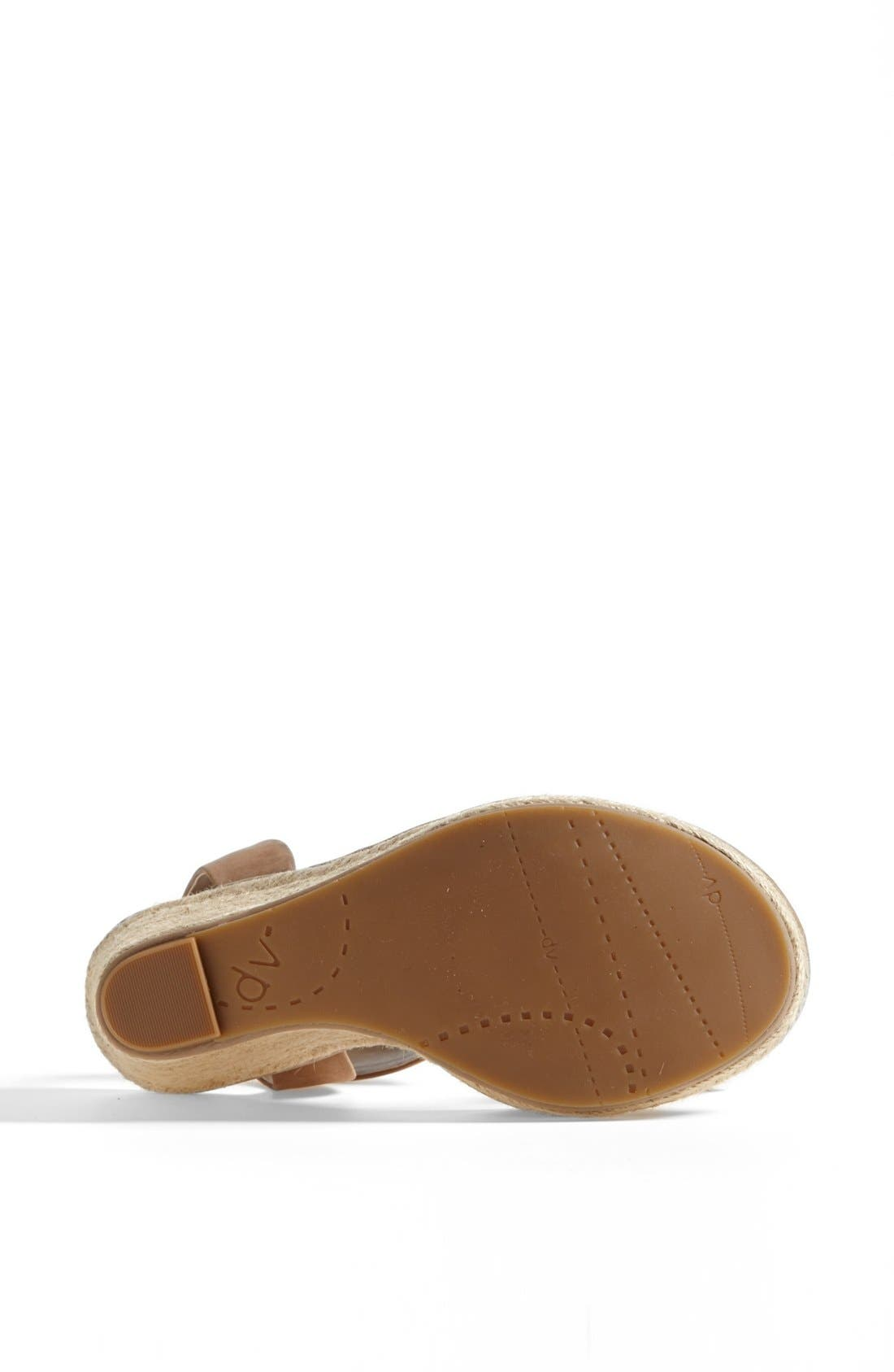 DV by Dolce Vita 'Tonya' Sandal,                             Alternate thumbnail 4, color,                             Taupe