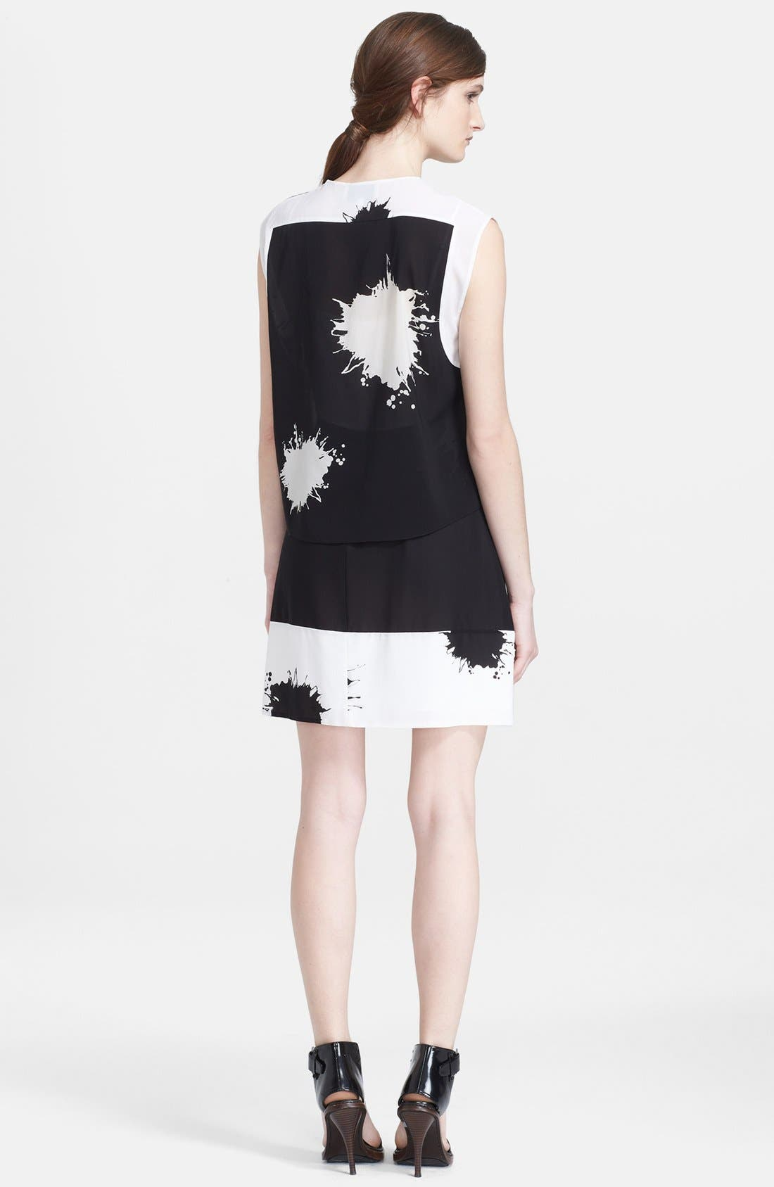 Alternate Image 2  - 3.1 Phillip Lim Print Silk Two-Piece Tunic Dress