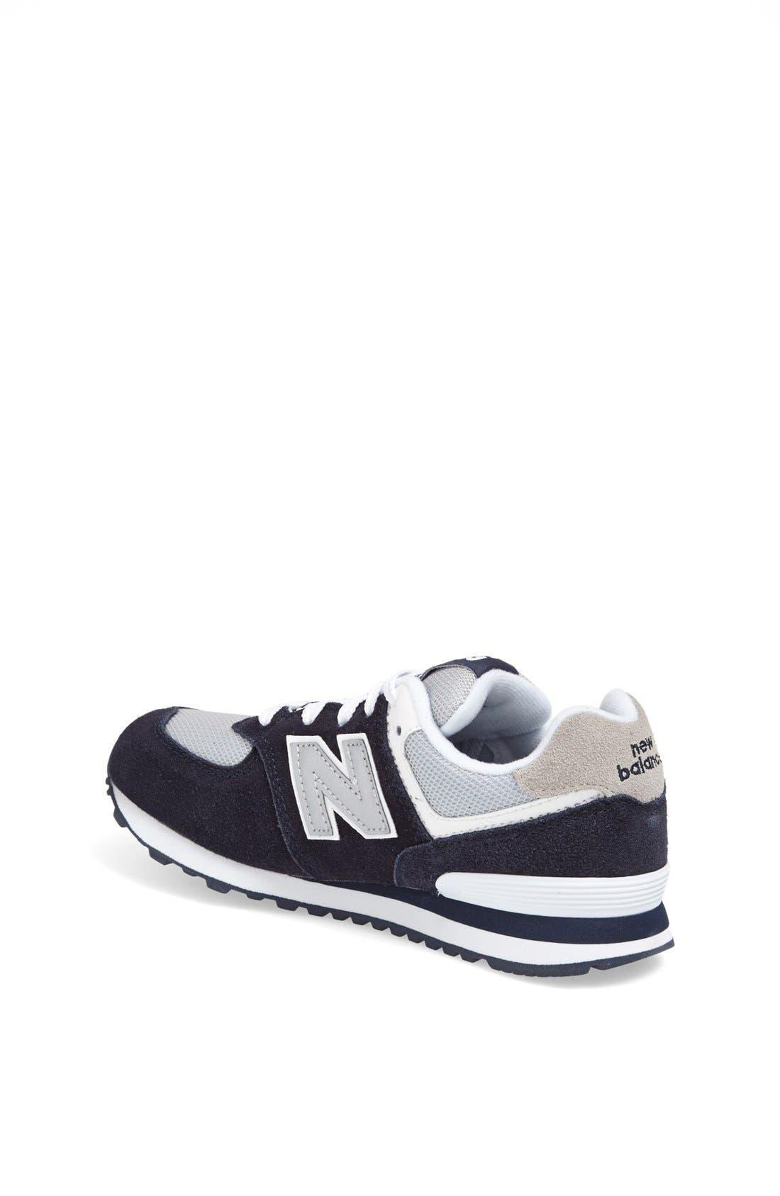 Alternate Image 2  - New Balance '574 Classic' Sneaker (Toddler & Little Kid)