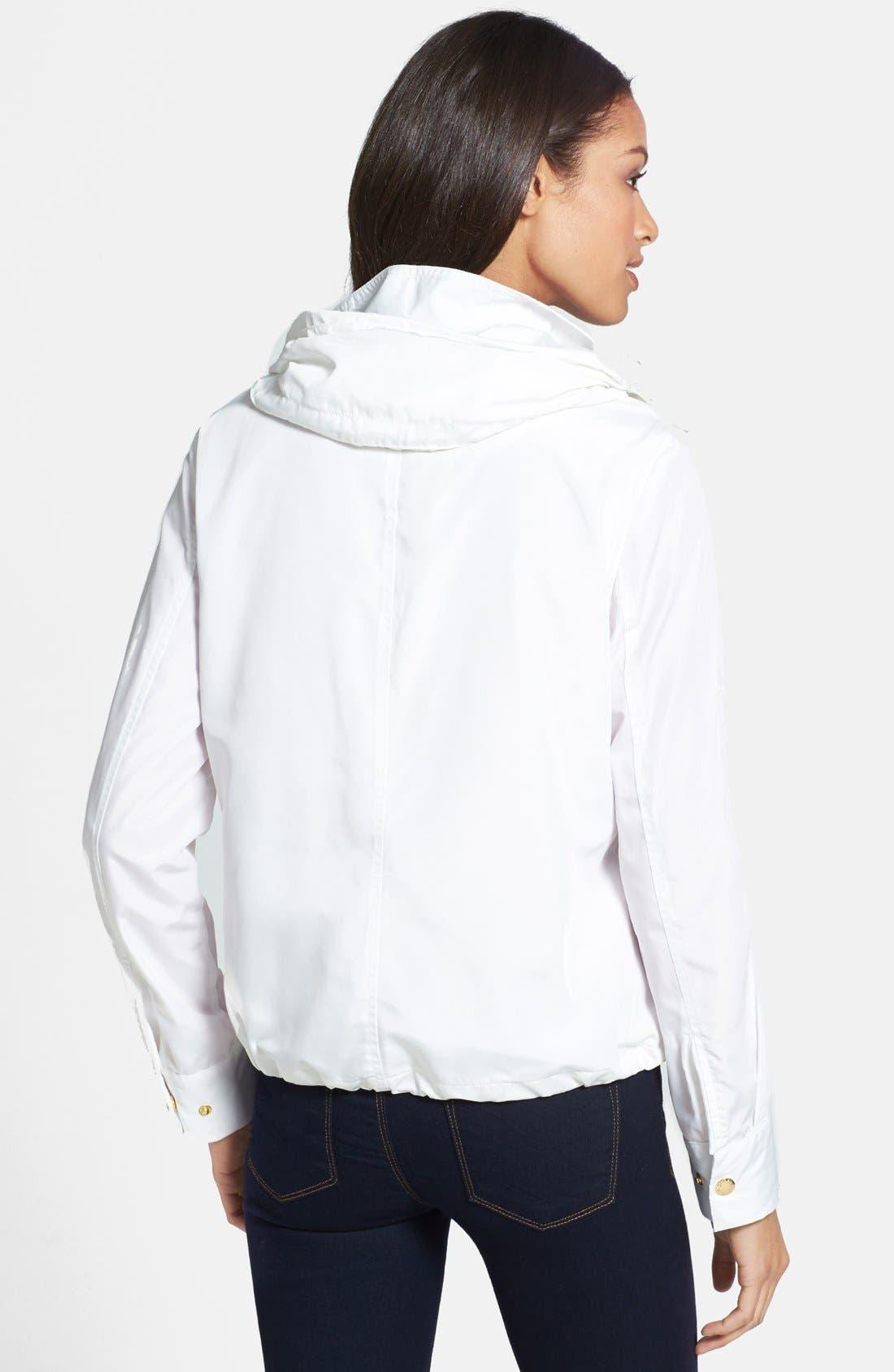Alternate Image 2  - MICHAEL Michael Kors Hooded Blouson Jacket